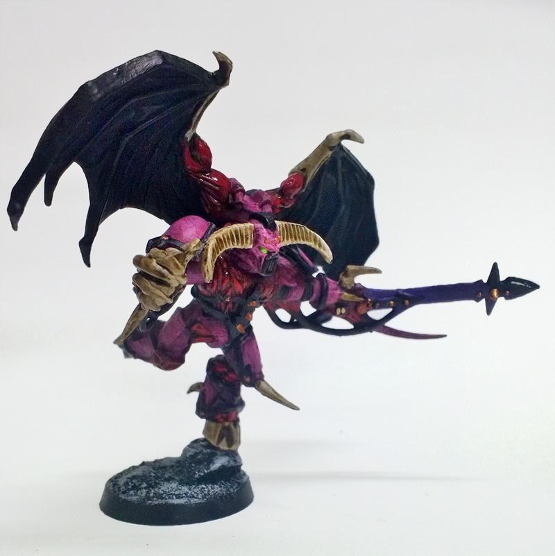 Emperor's Children, Possessed, Possessed Chaos Space Marine, Warhammer 40,000, Winged