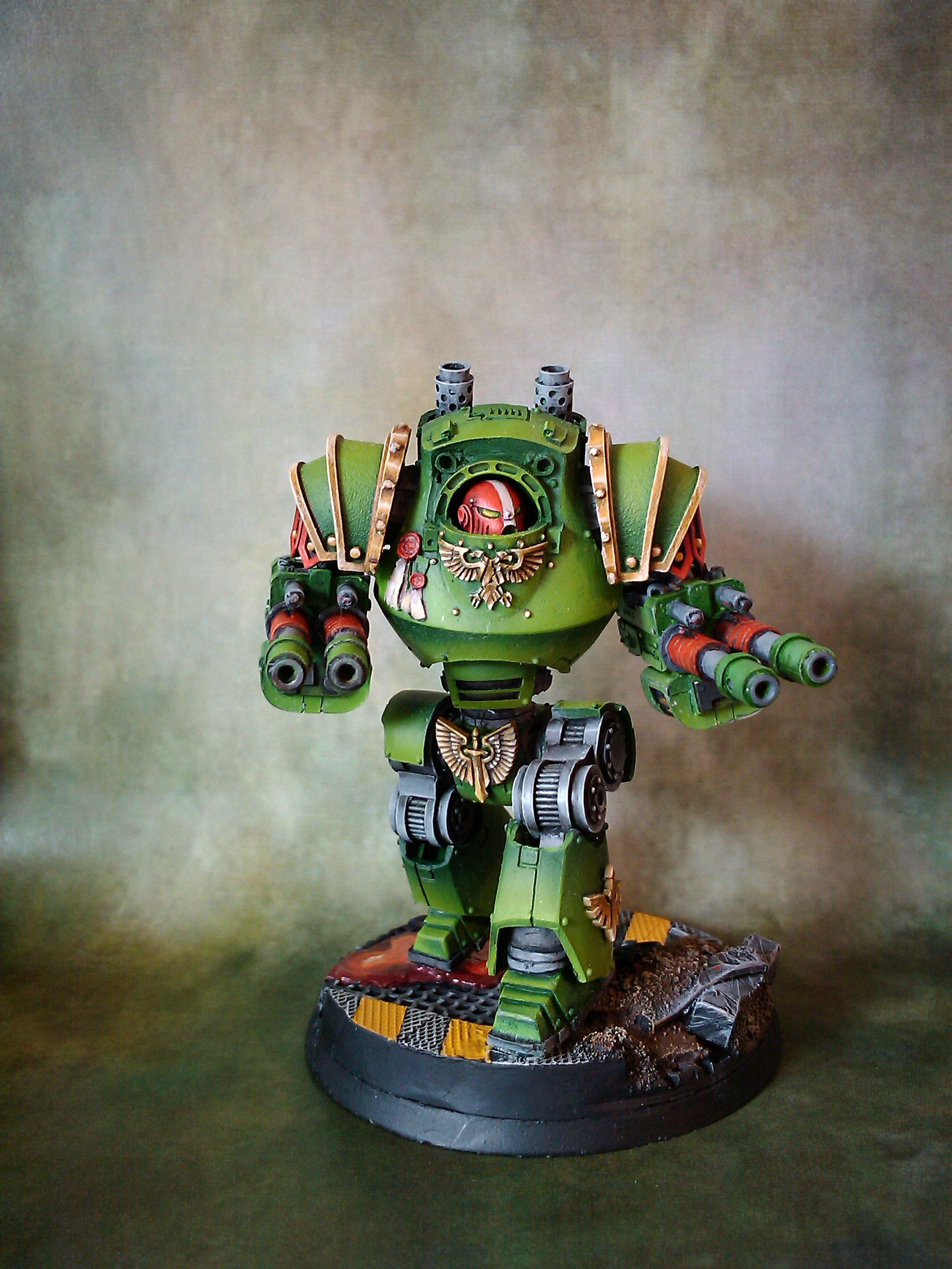 Contemptor, Dreadnought, Forge World, Space Marines