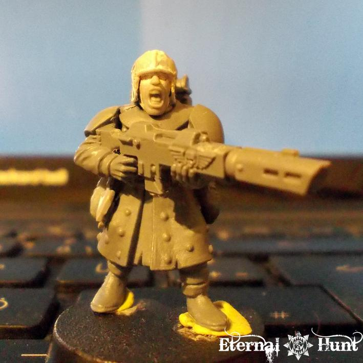 Conversion, Imperial Guard, Inq28, Inquisitor 28, Retainer, Trooper, Warhammer 40,000