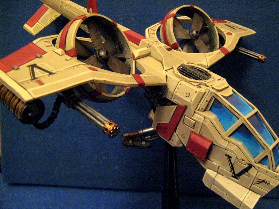 Conversion, Dragonfly, Imperial Guard, Puppets War, Warhammer 40,000