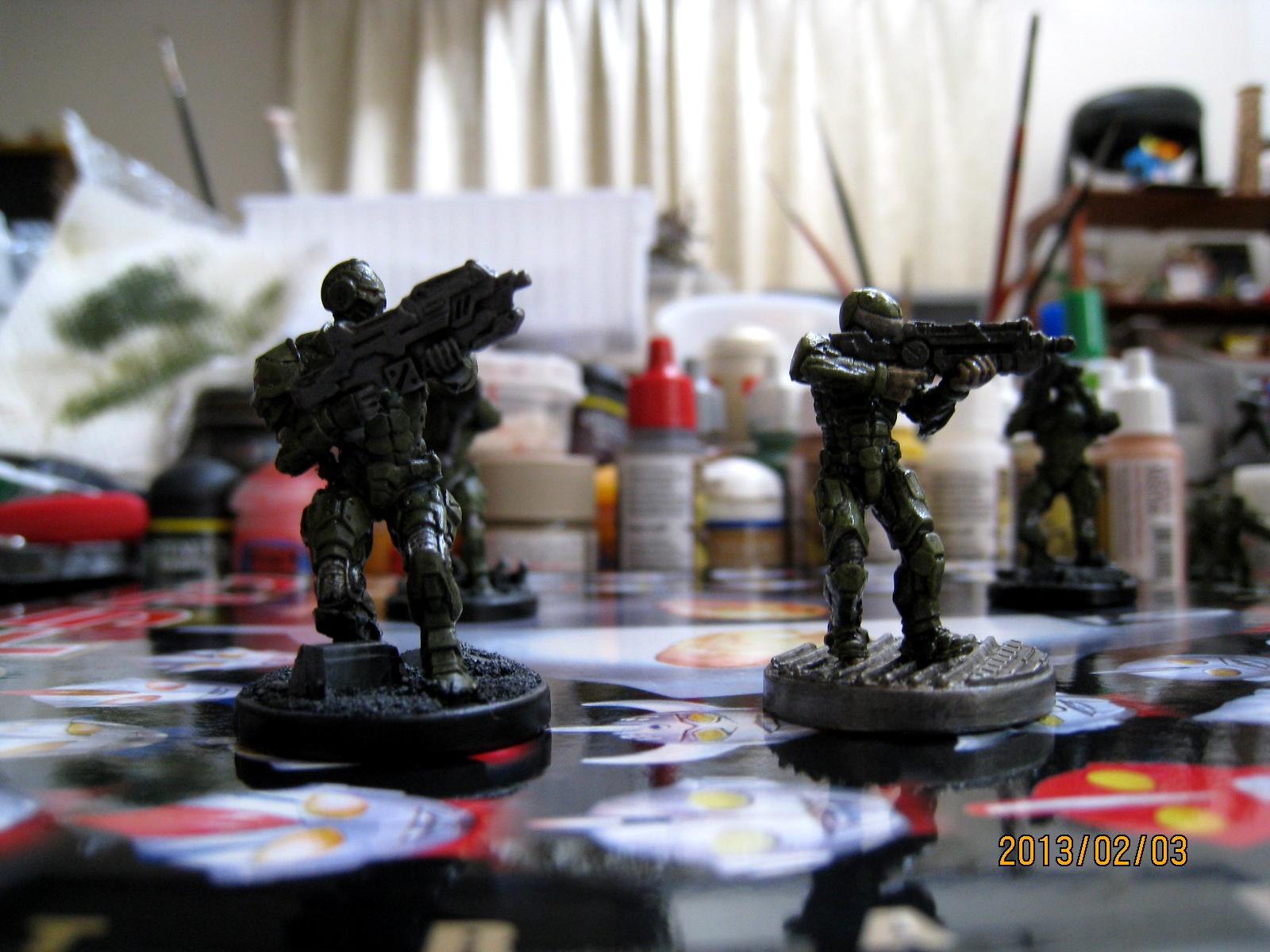 Enforcer, Gun, Mantic