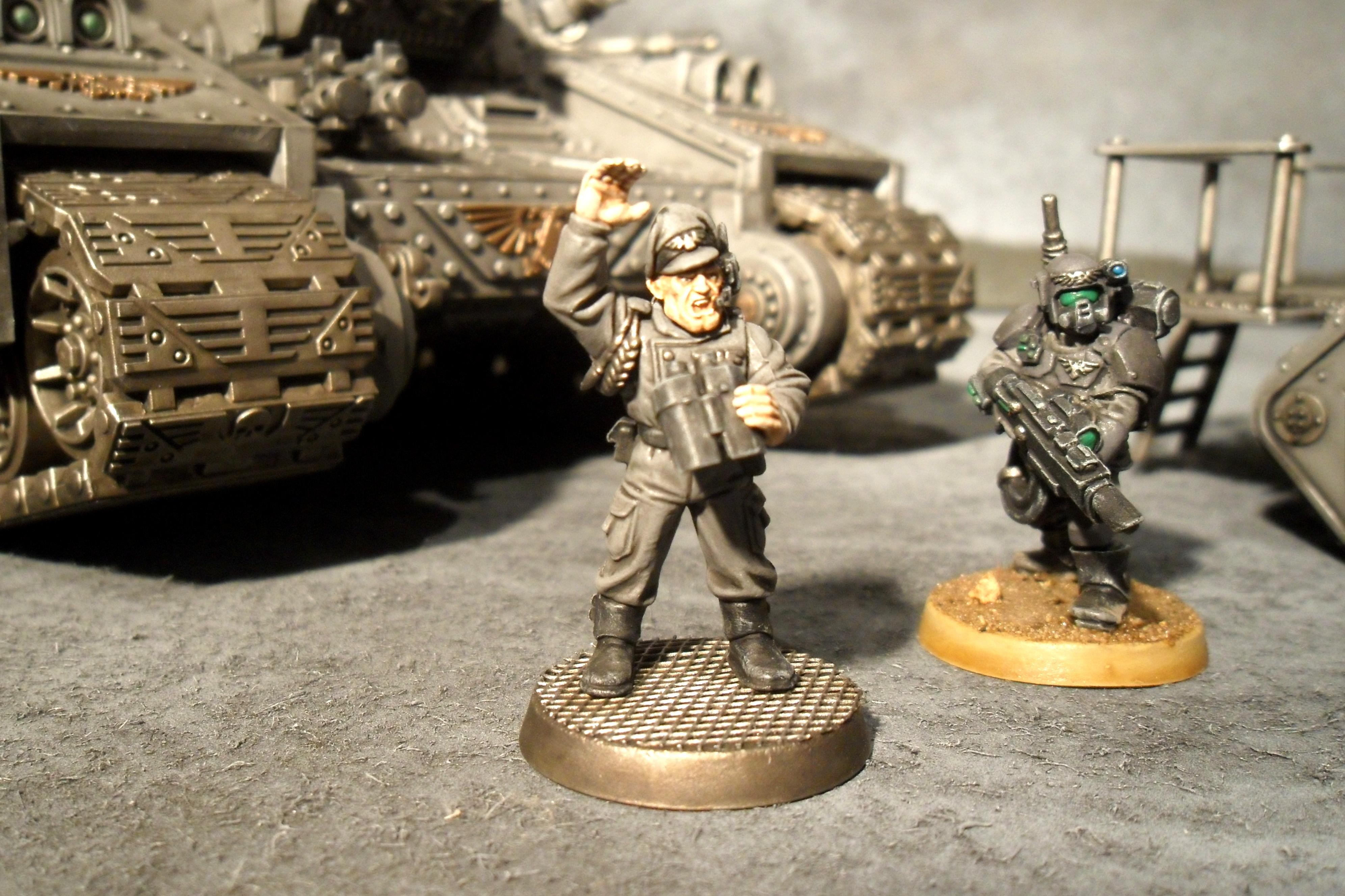 Captain, Imperial Guard, Warhammer 40,000