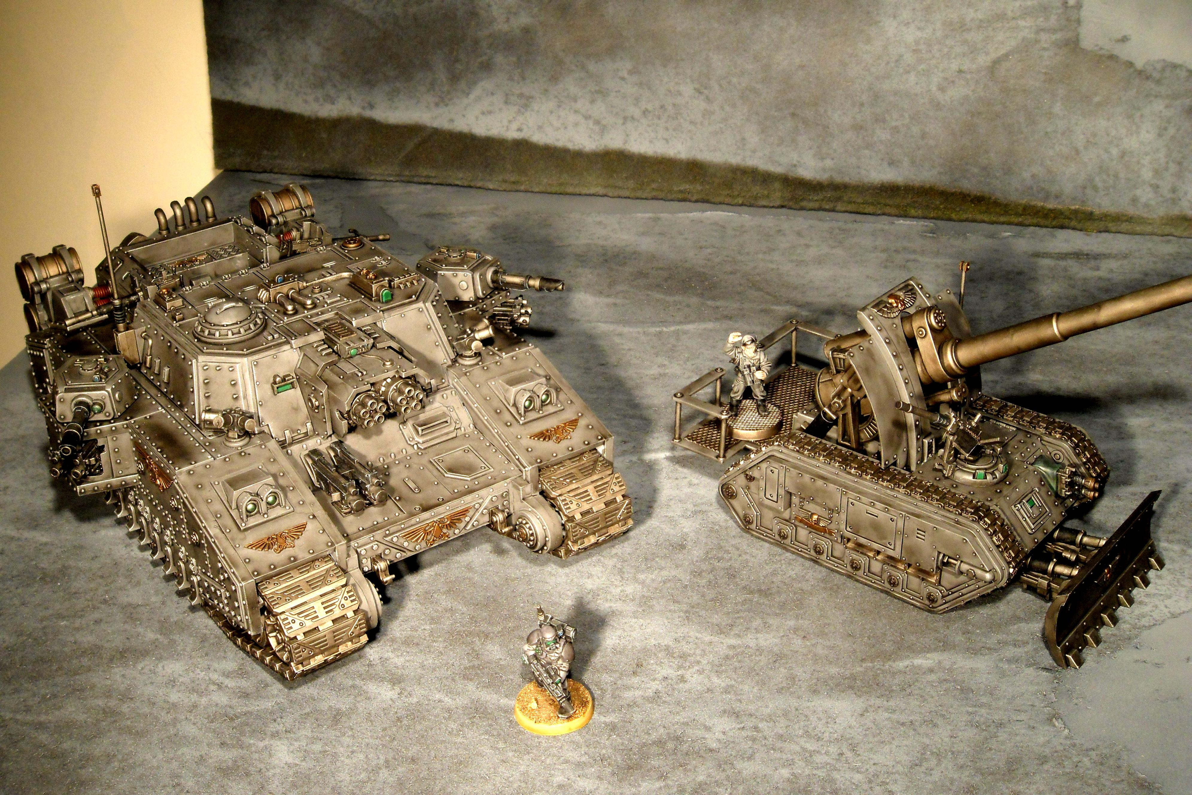 Basilisk, Imperial Guard, Storm Troopers, Stormlord, Warhammer 40,000