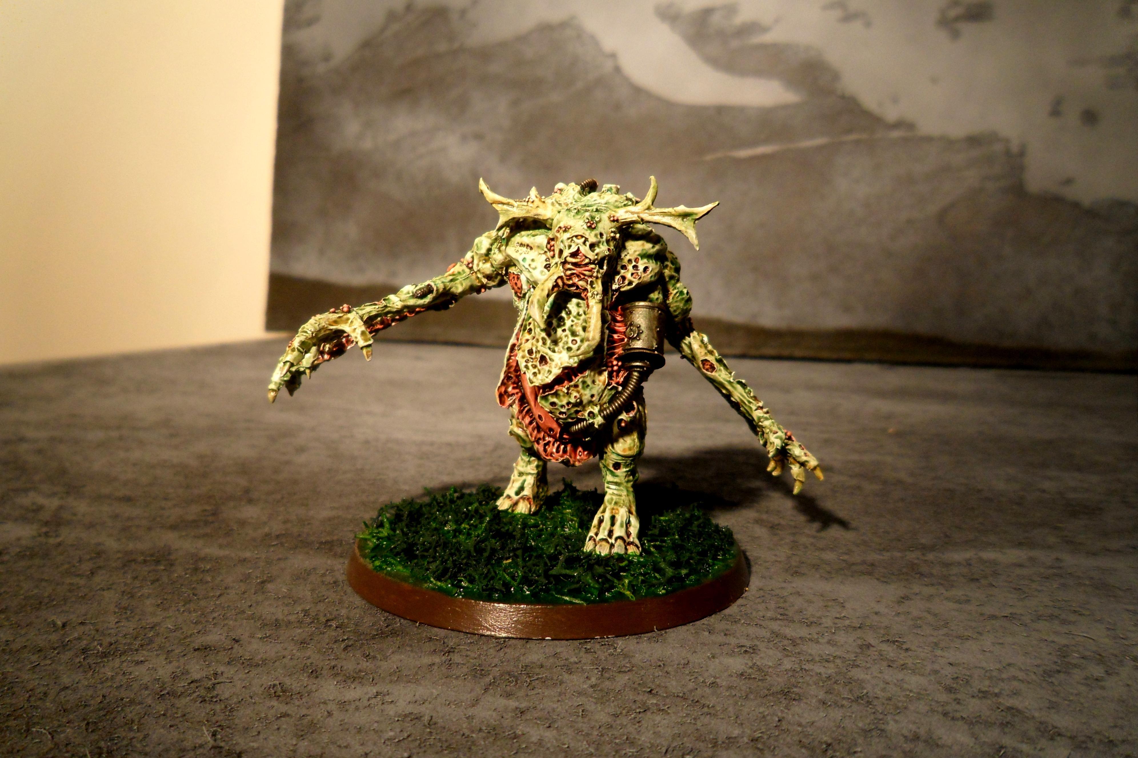 Conversion, Daemon Prince, Nurgle, Nurgle Deamon Prince, Plague Ogre, Plague Orge, Warhammer 40,000
