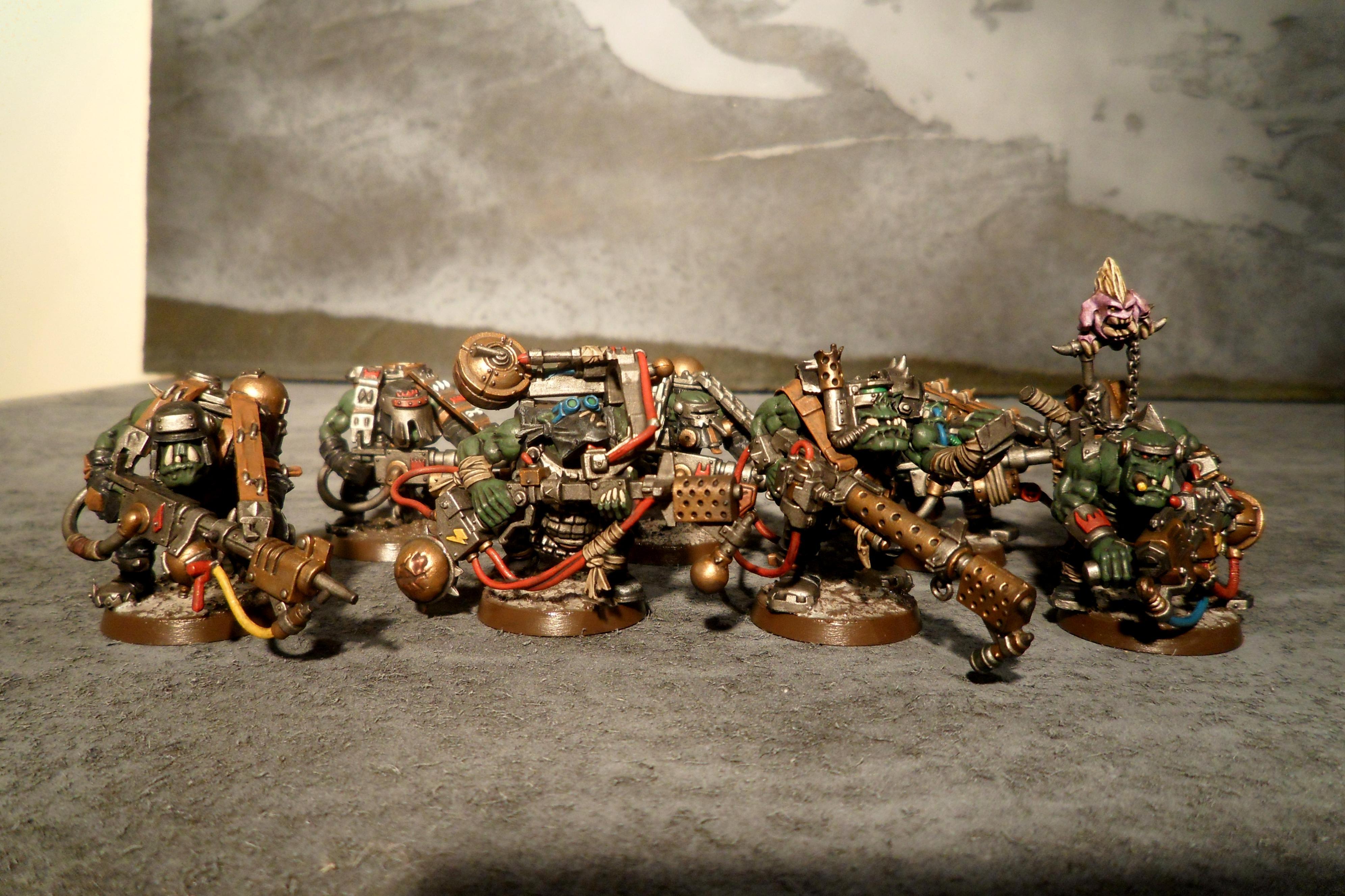 Burna Boyz, Conversion, Orks, Warhammer 40,000