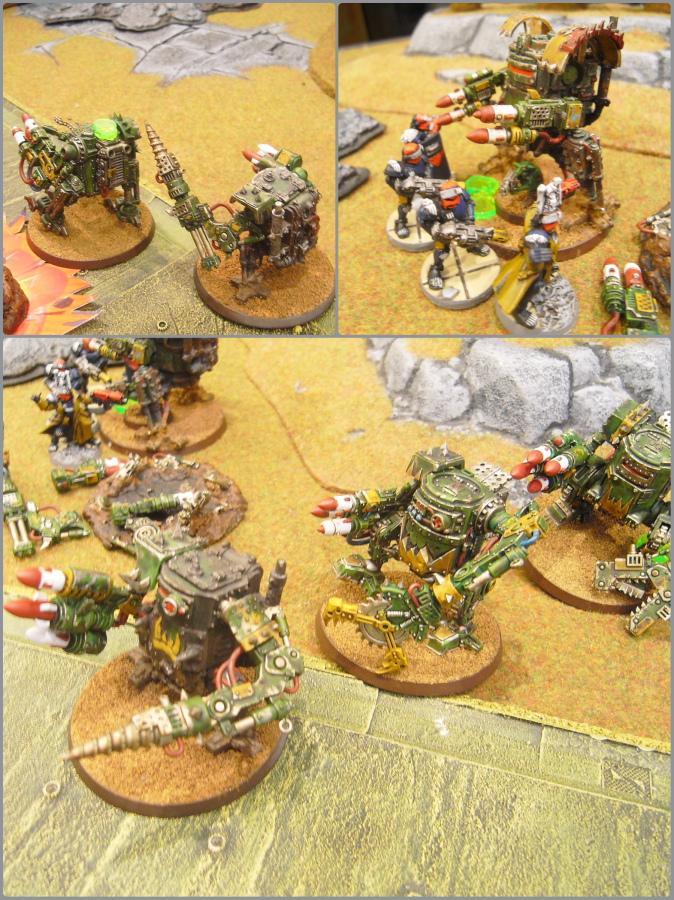 Adeptus Arbites, Battle Report, Grots, Killa Kan