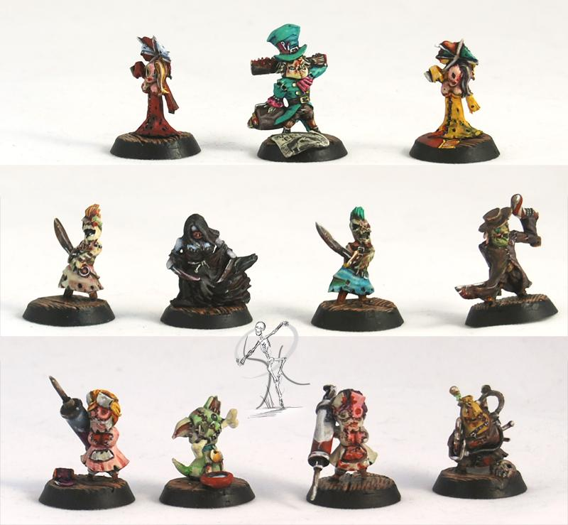 Malifaux, Puppet Wars, Ressurrectionists, Wyrd