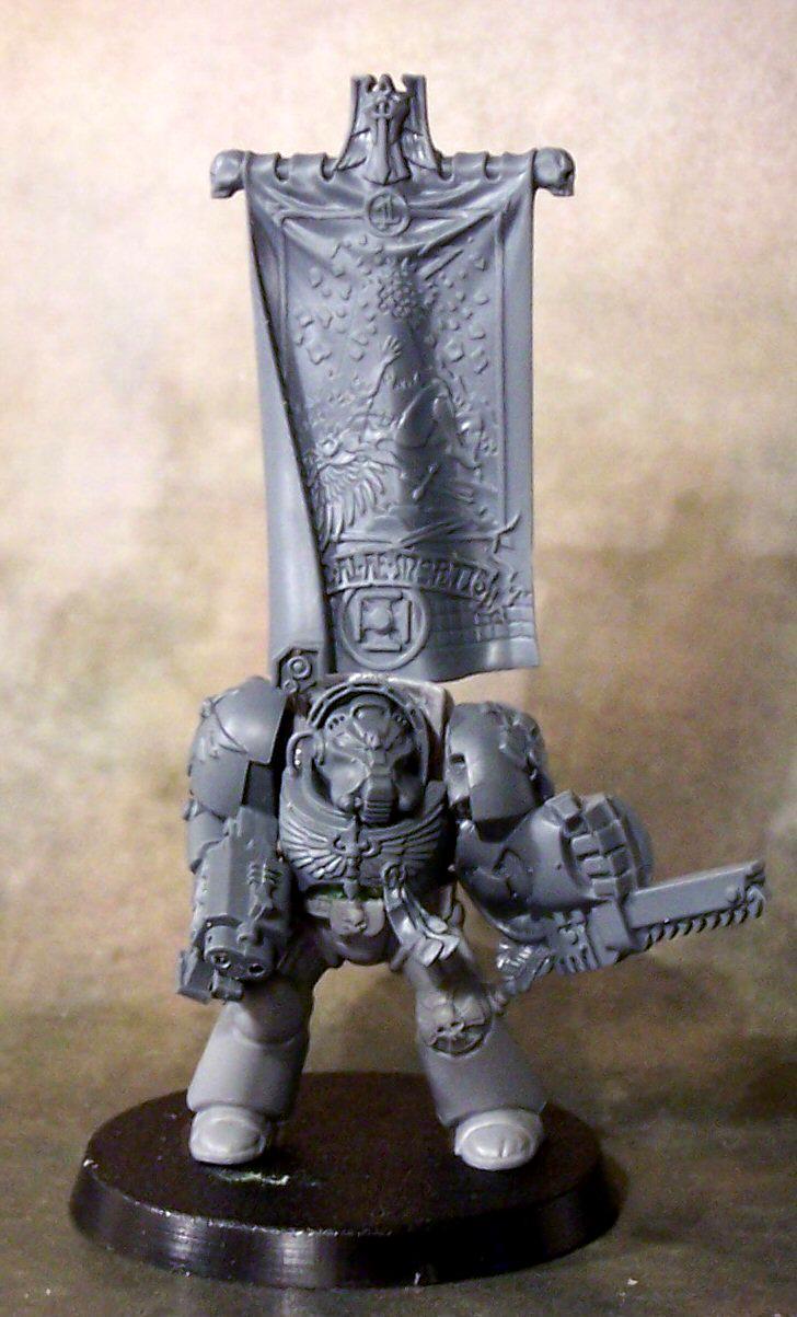 Dark Angels, Space Marines, Terminator Armor, Work In Progress