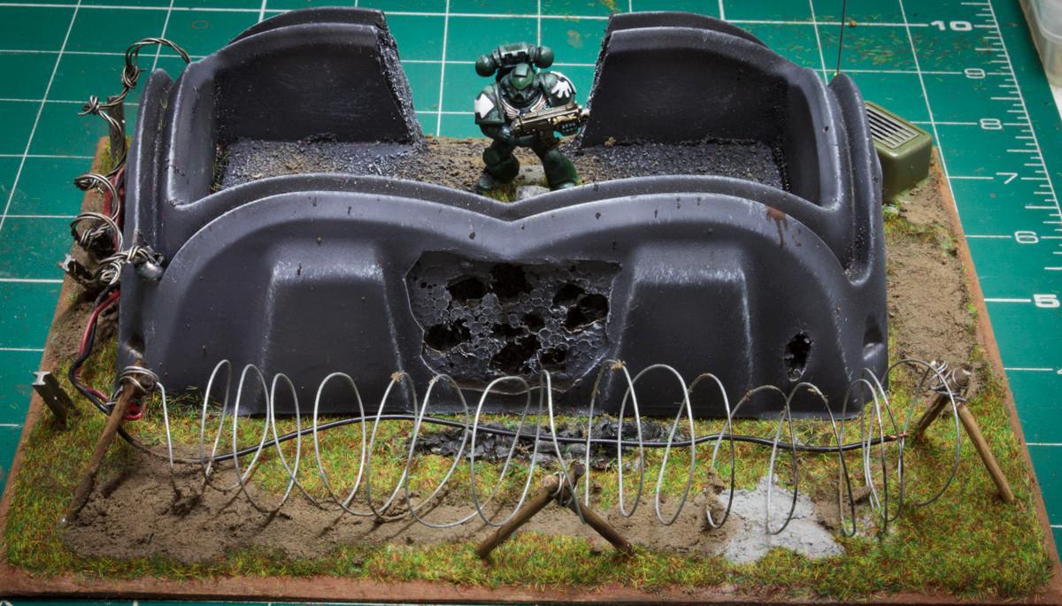 Bunker, Firebase, Pillbox, Terrain
