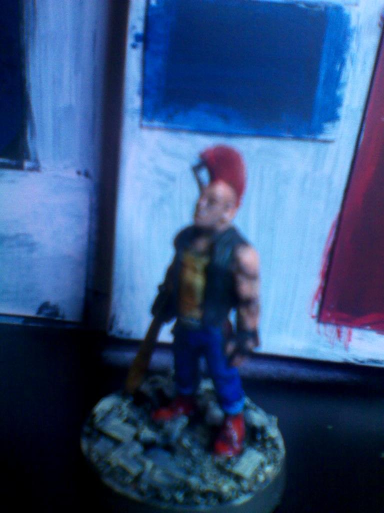 Blurred Photo, Punk, Thug
