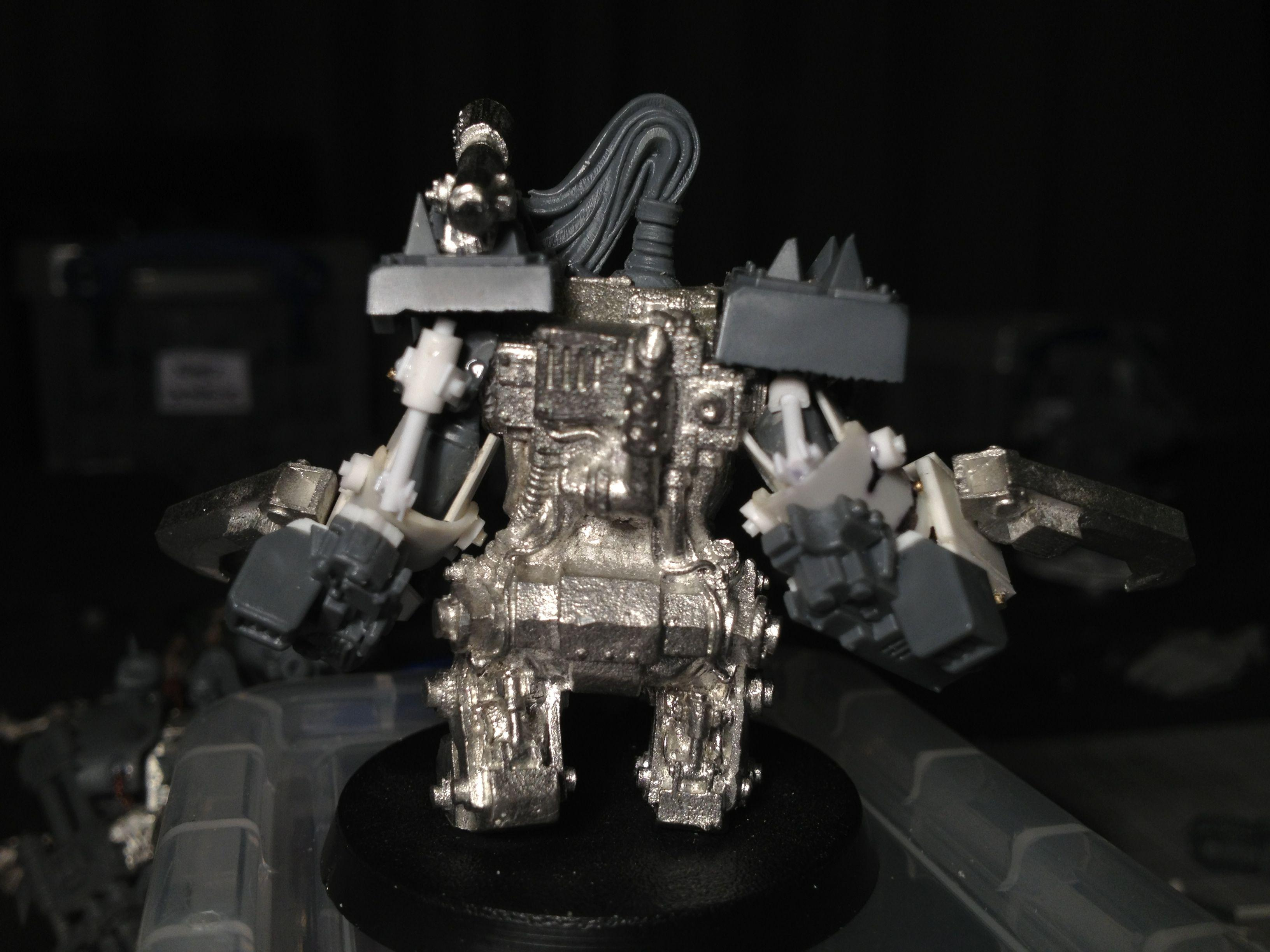 Da Dark Angelz, Meganob, Orks, Work In Progress