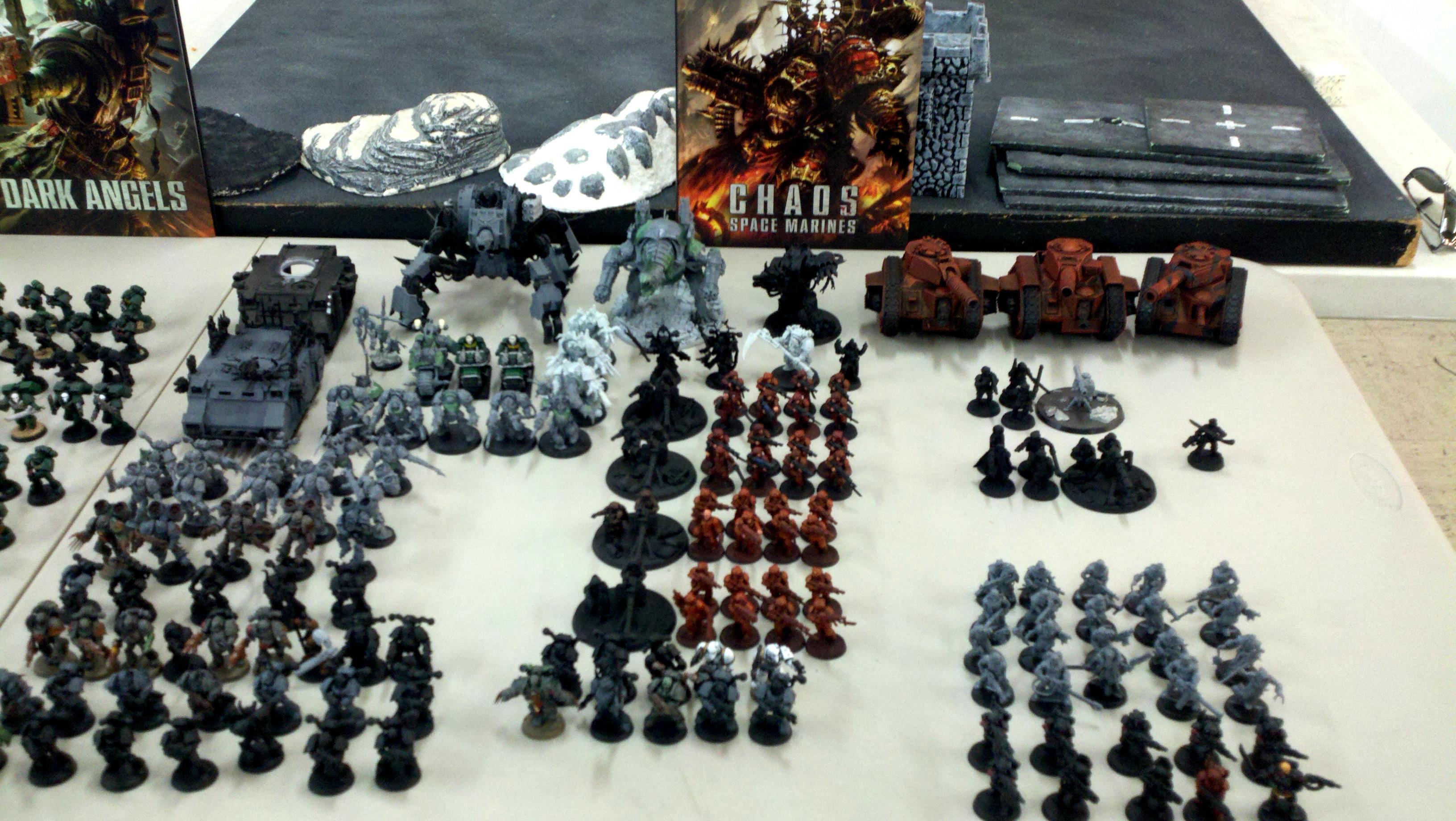 Some chaos and imperial guard