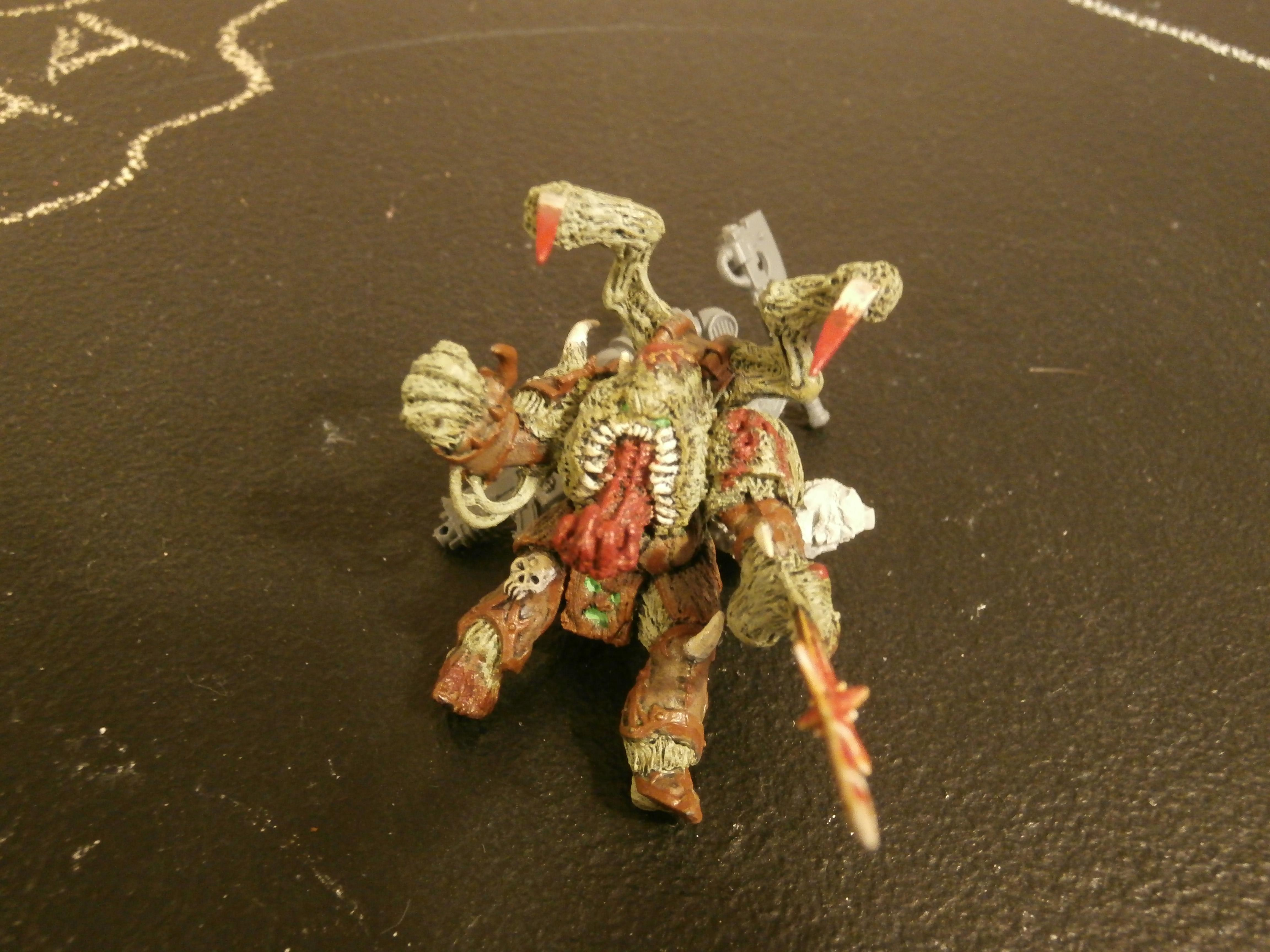 Chaos Lord, Chaos Space Marines, Nurgle, Palanquin