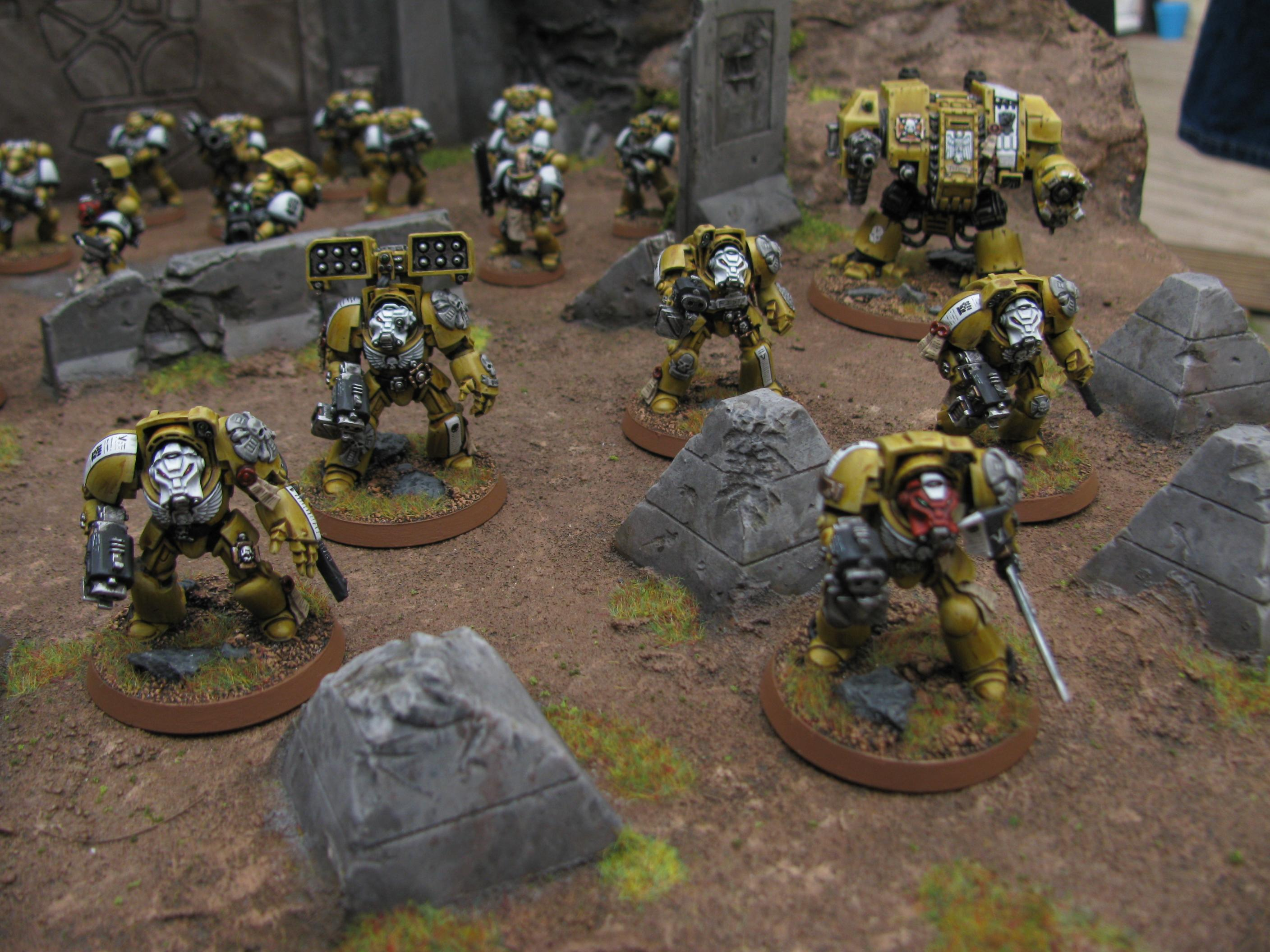 Armies On Parade, Imperial Fists, Space Marines