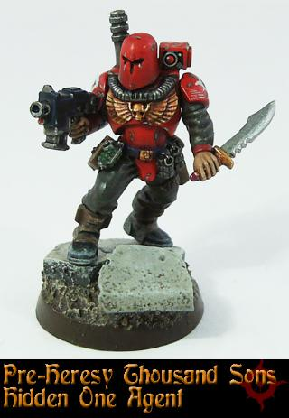 Agent Assassin Inquisitor Pre Heresy Psykers Spy Thousand Sons