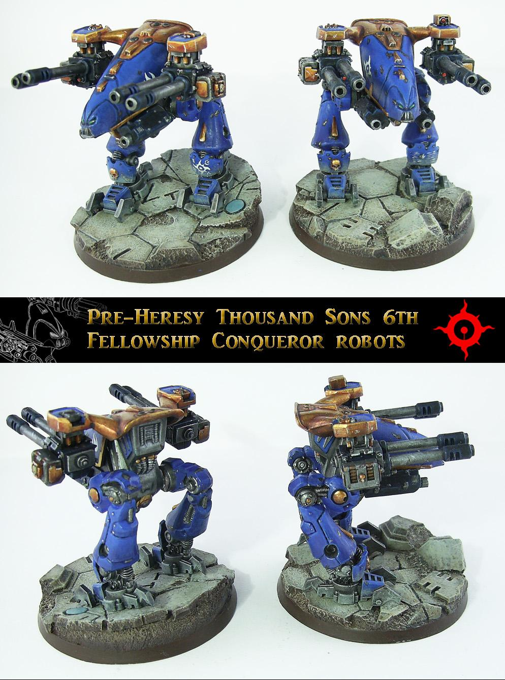 Adeptus Mechcanicus, Dreadnought, Legios Cybernetica, Robot, Robots, Rogue Trader, Space Crusade, Walker