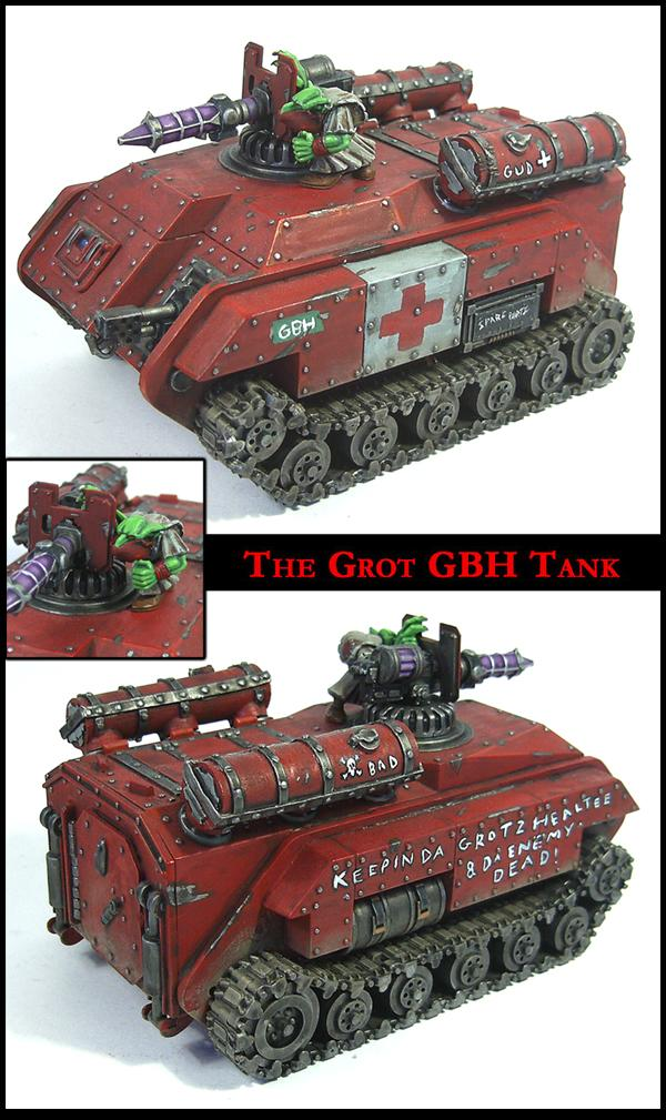 Banewolf, Goblins, Greenskins, Grots, Imperial Guard, Looted, Mad Dok, Orks, Painboy, Rebelz