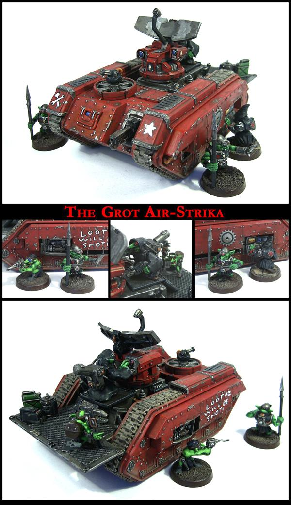 Artillery, Goblins, Greenskins, Grots, Heavy Support, Imperial Guard, Looted, Manticore, Orks, Rebelz