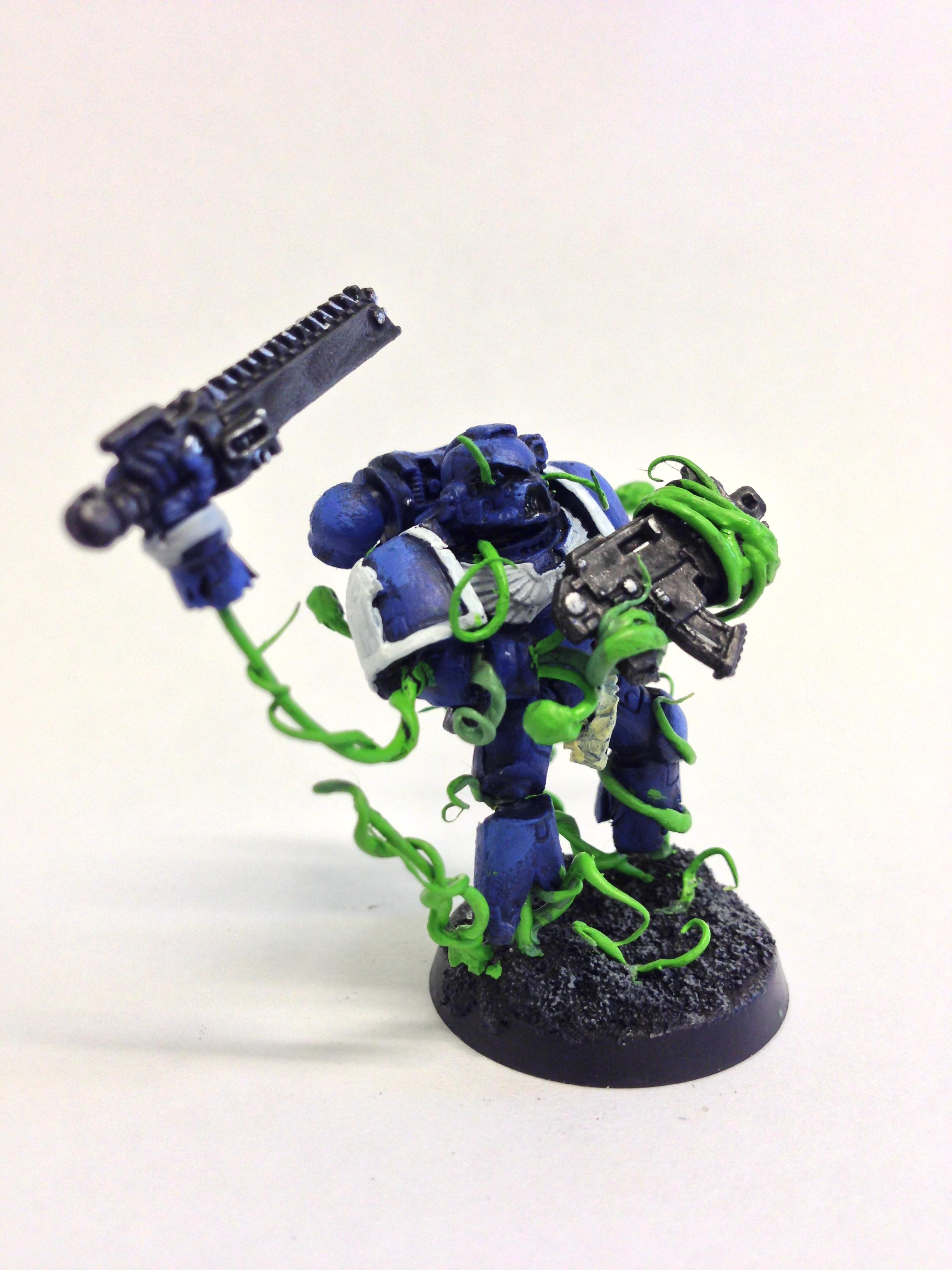 Conversion, Modelling, Possessed, Possessed Space Marine, Vines