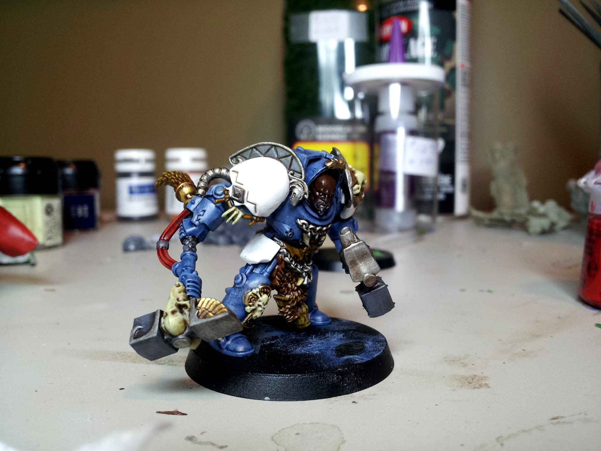 Conversion, Space Marines, Space Wolves, Terminator Armor, Vikings