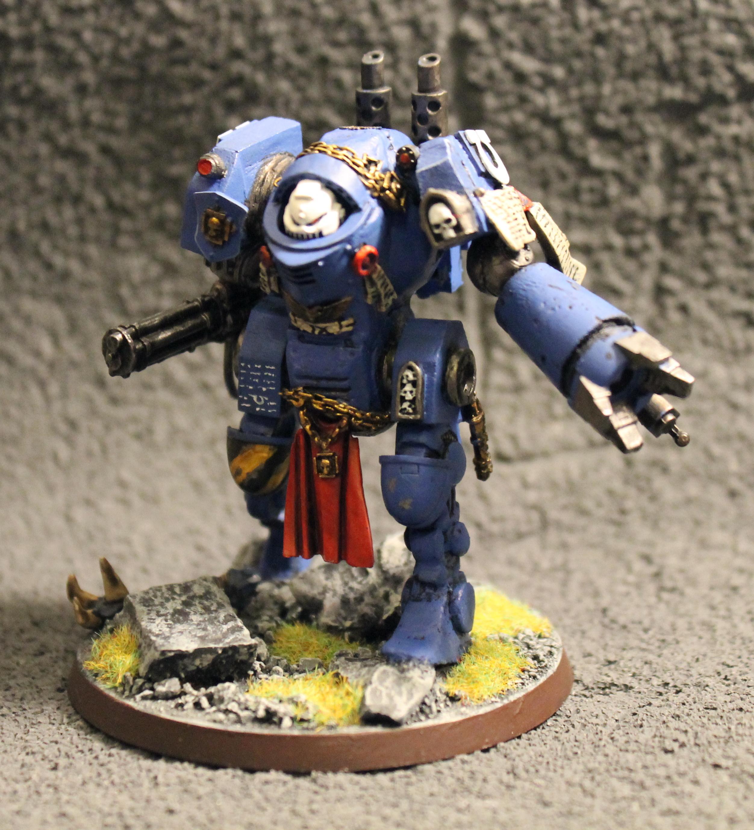 Contemptor, Custom, Dreadnought, Kitbash, Ultramarines