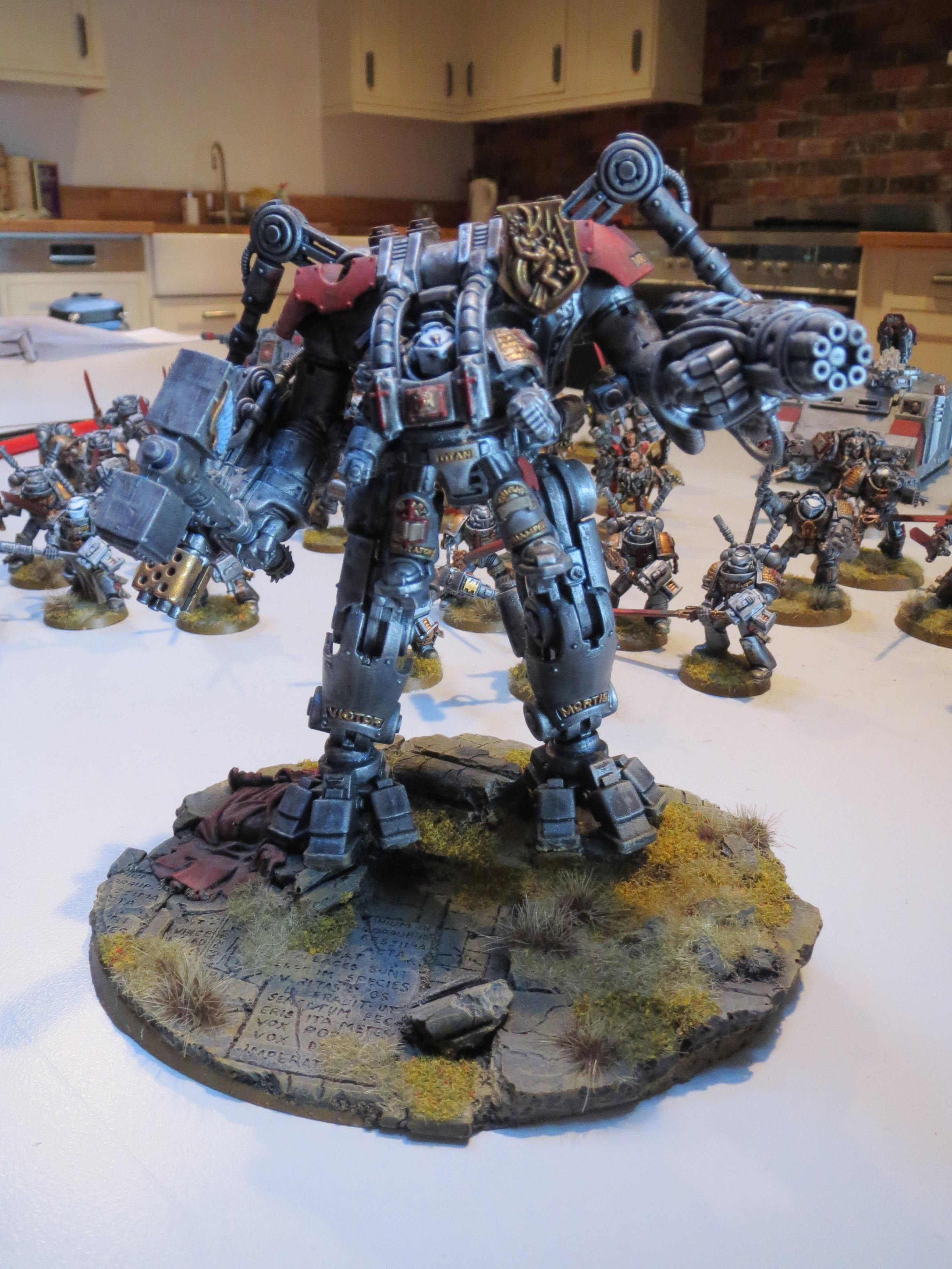 Dread Knight, Grey Knights, Hammer