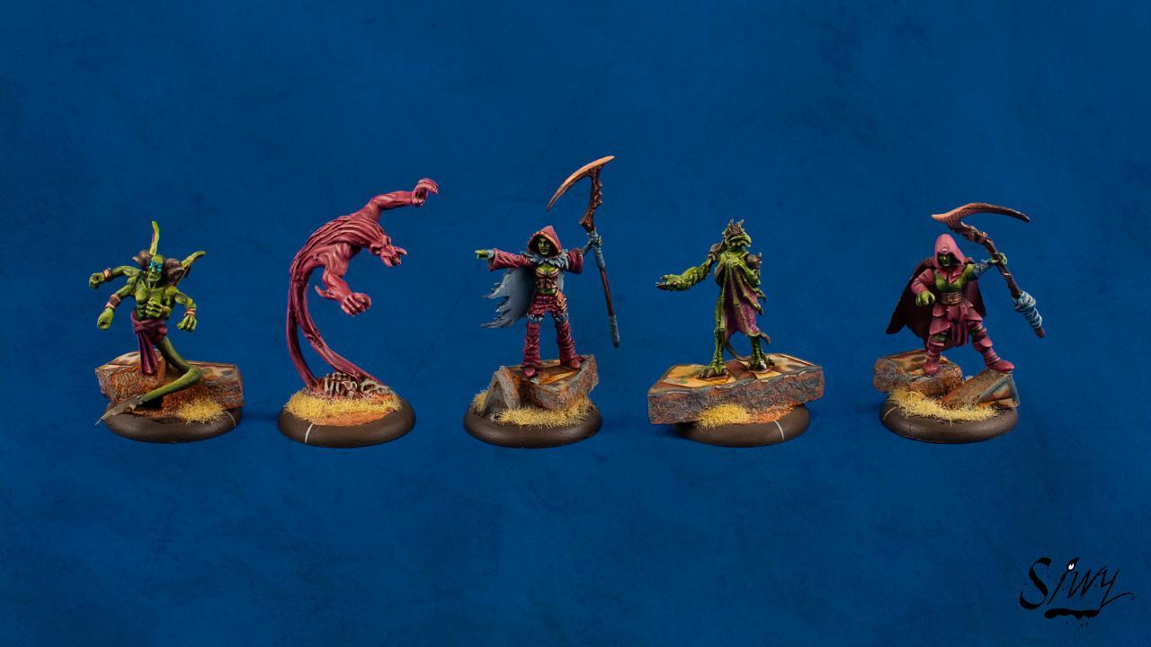 Everblight, Feralgeist, Forsaken, Legion, Shepherd, Succubus
