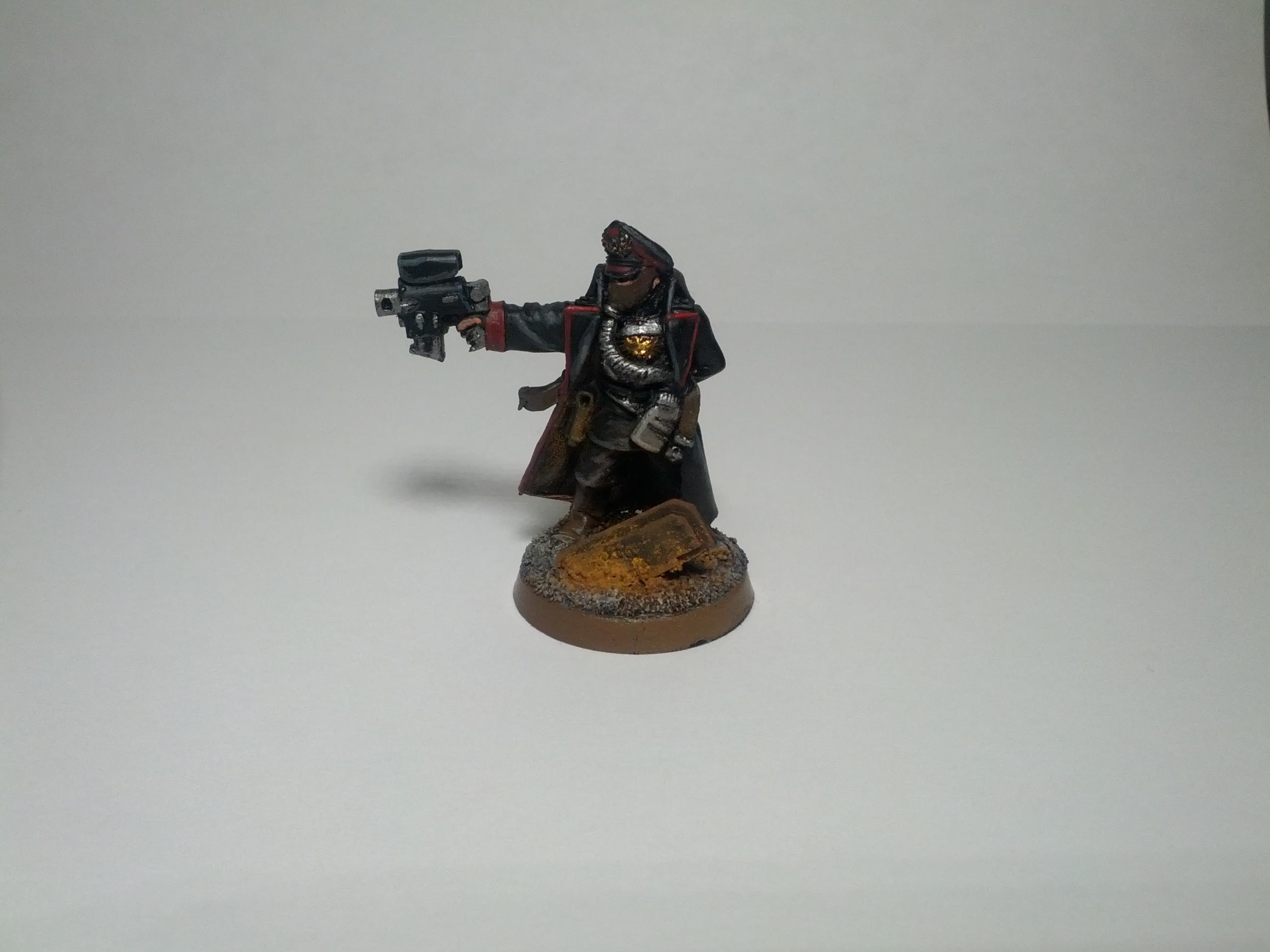 Commissar, Legion, Steel