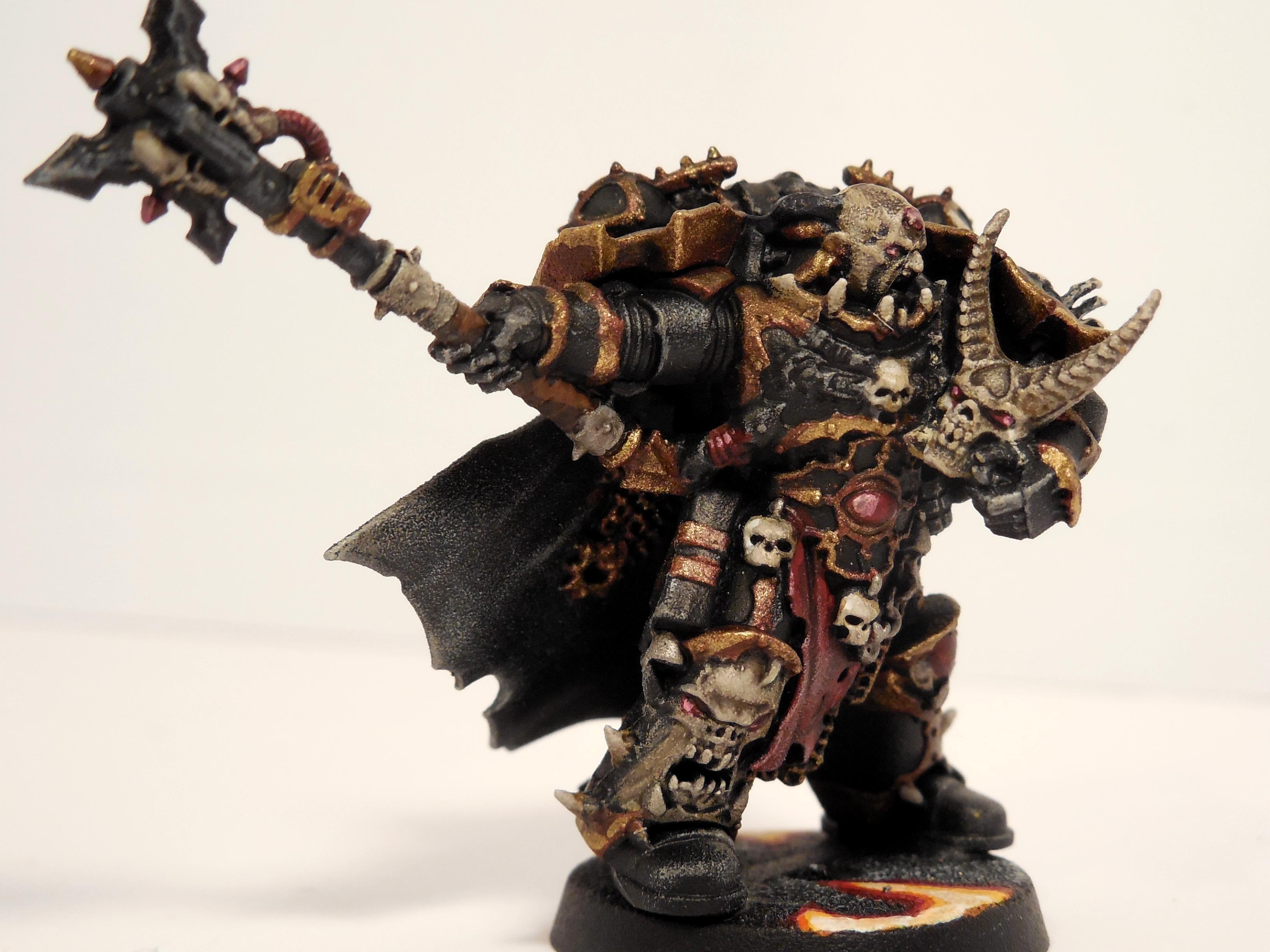 Black Legion, Chaos, Chaos Dark Vengence, Chaos Hellbrute, Chaos Space Marines, Cultists, Warhammer 40,000