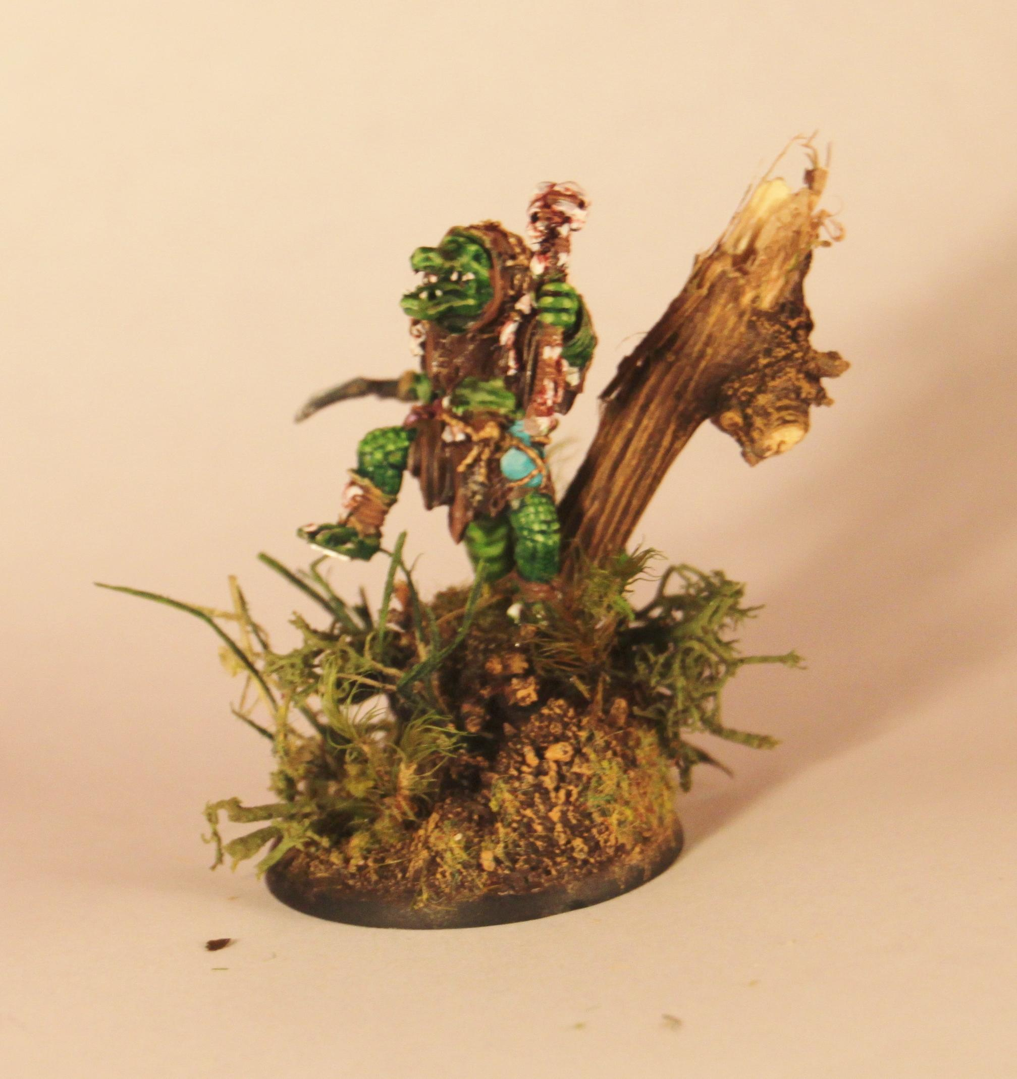 Gatorman Witch Doctor, Hordes, Work In Progress