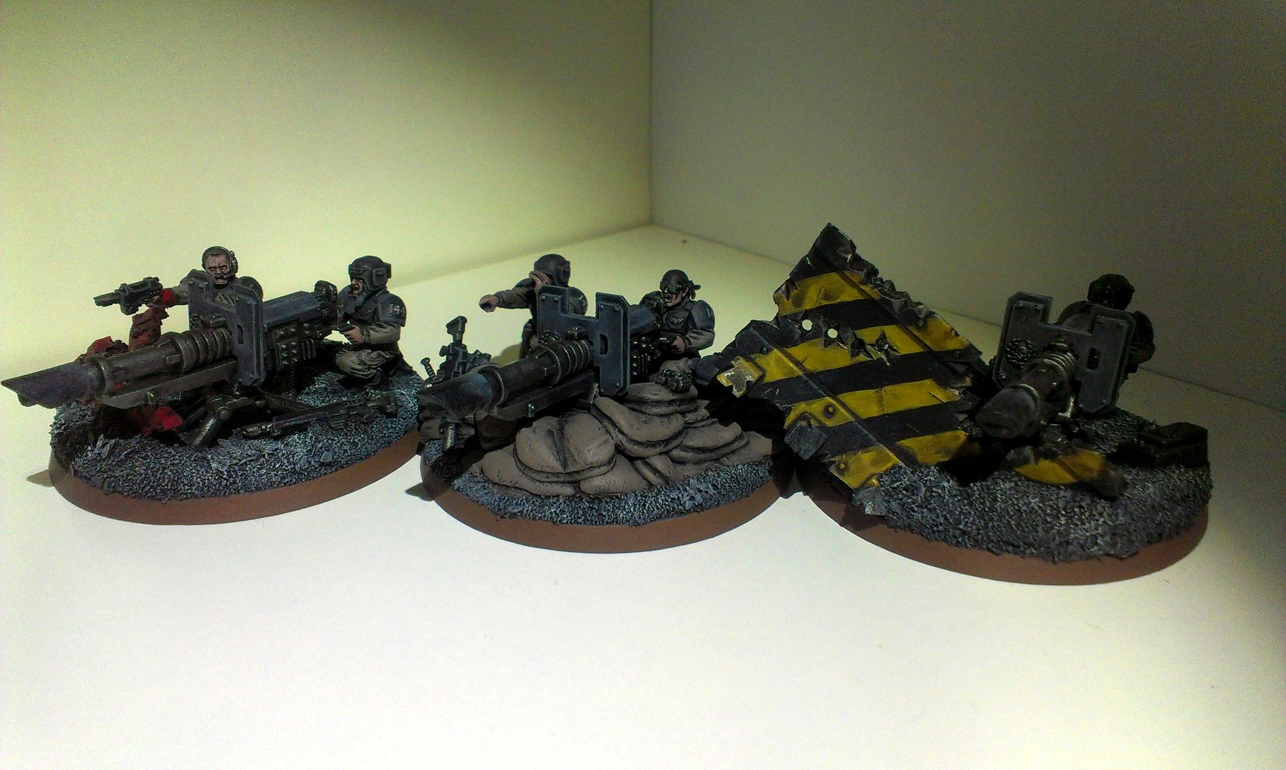 Astra Militarum, Cadians, Creed, Headquarters, Heavy Weapons Team, Imperial Guard, Infantry, Kell, Troop Choice, Warhammer 40,000