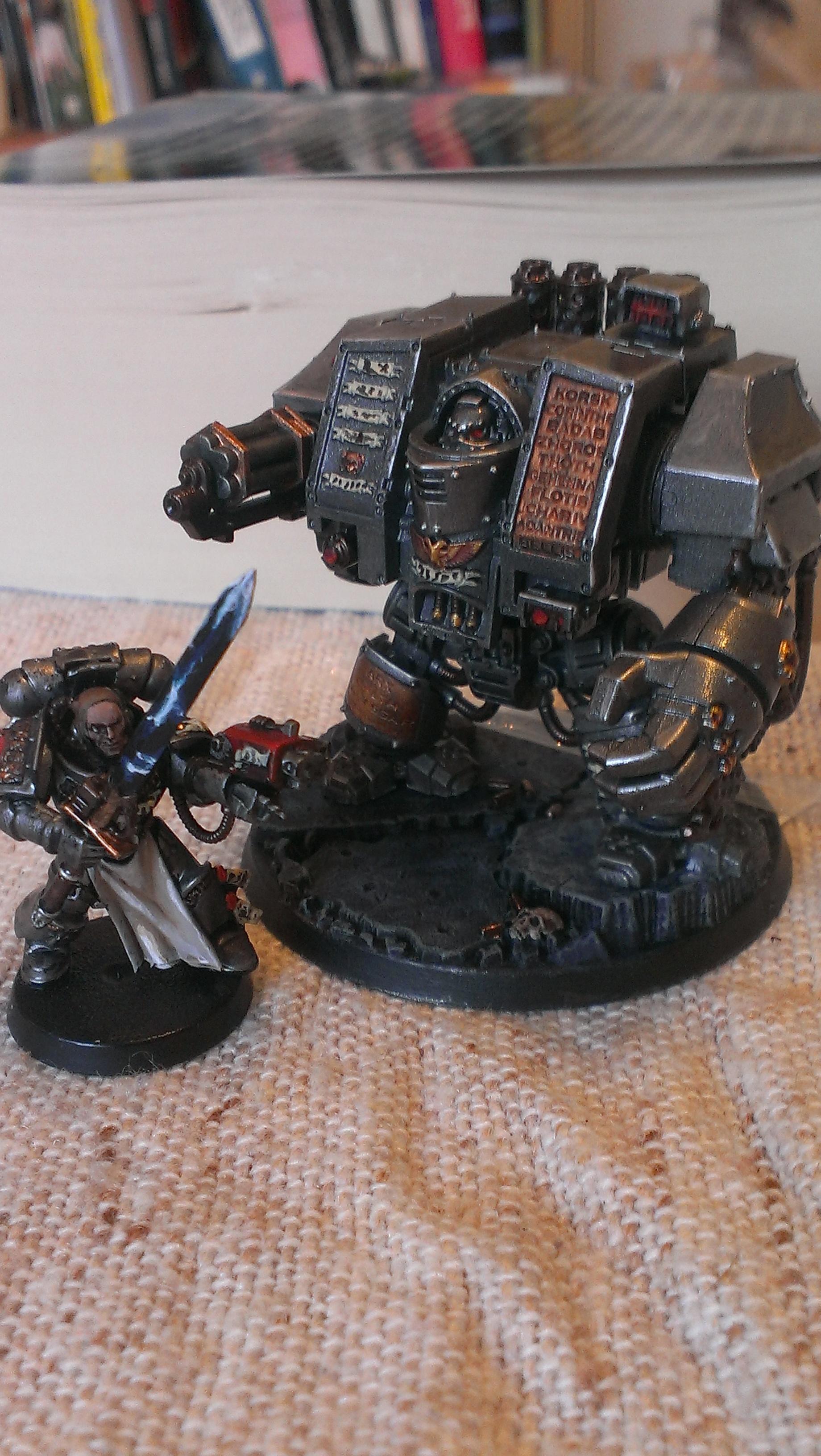 Dreadnought, Grey Knights, Gun, Warhammer 40,000