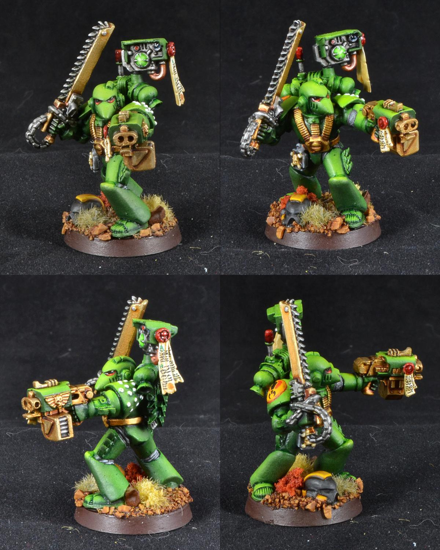 Devastator, Mantis Warriors, Mk Vi, Sergeant, Space Marines, Storm Bolter, Warhammer 40,000