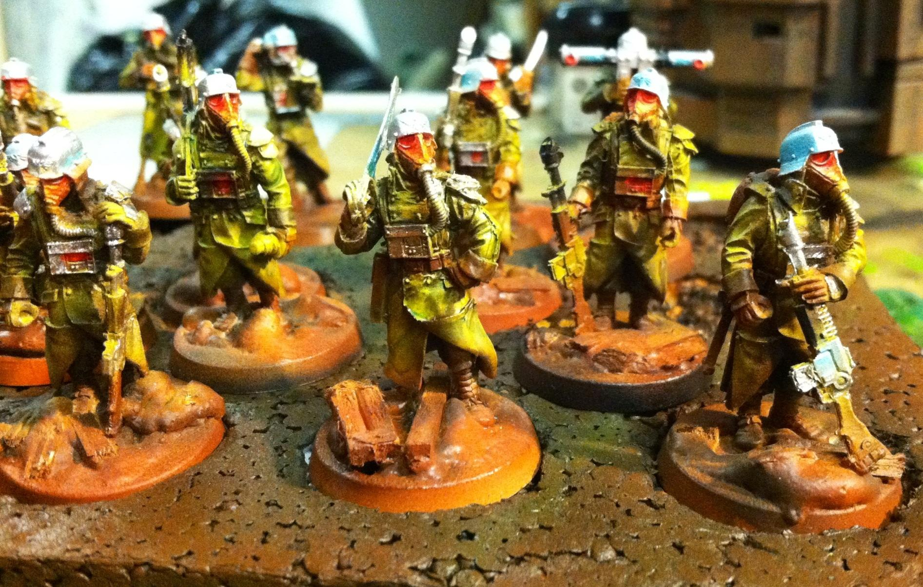 Airbrushed, Death Korps of Krieg, Warhammer 40,000