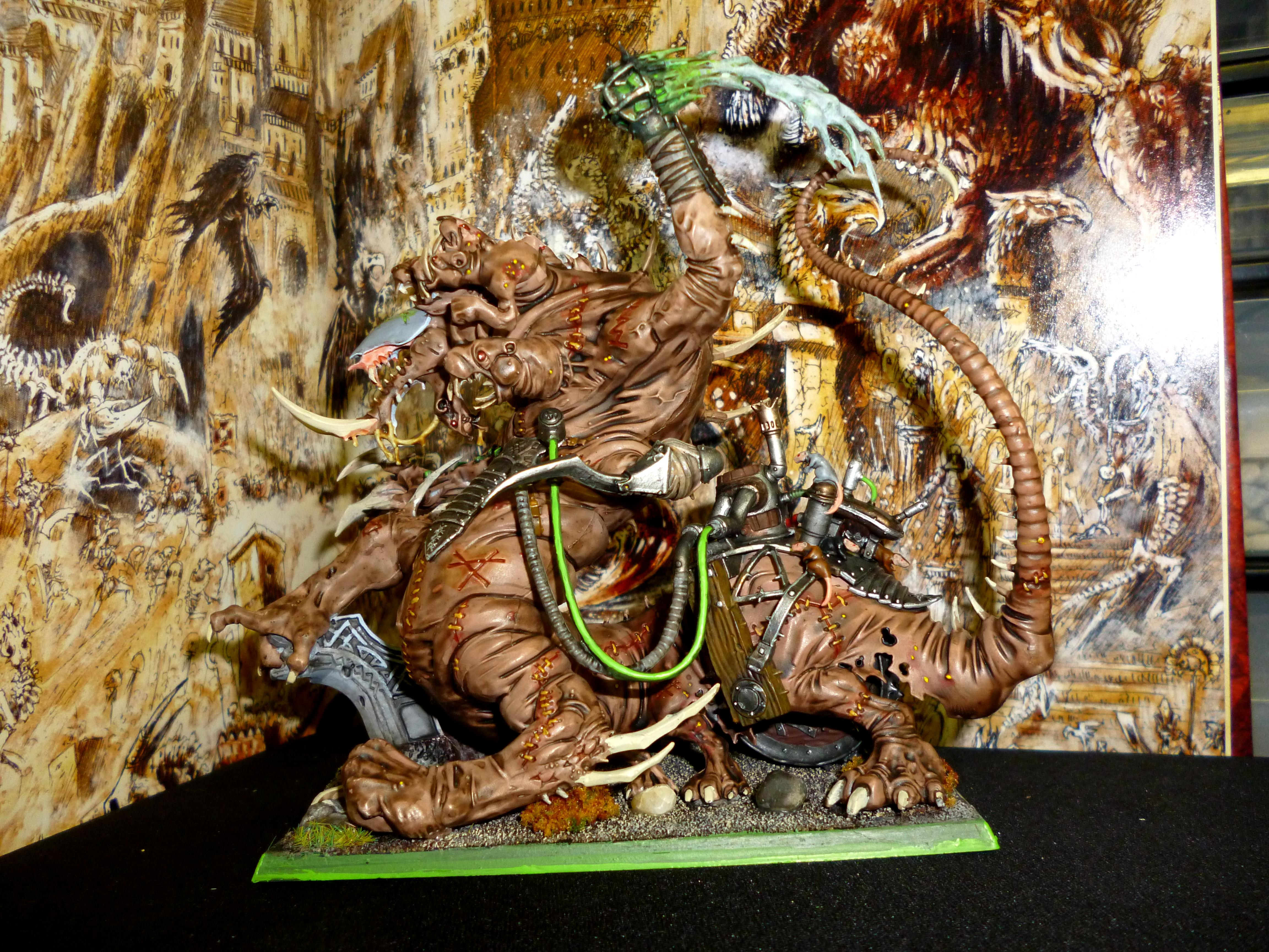 Abomination, Hell Pit Abomination, Monster, Rat, Skaven, Special