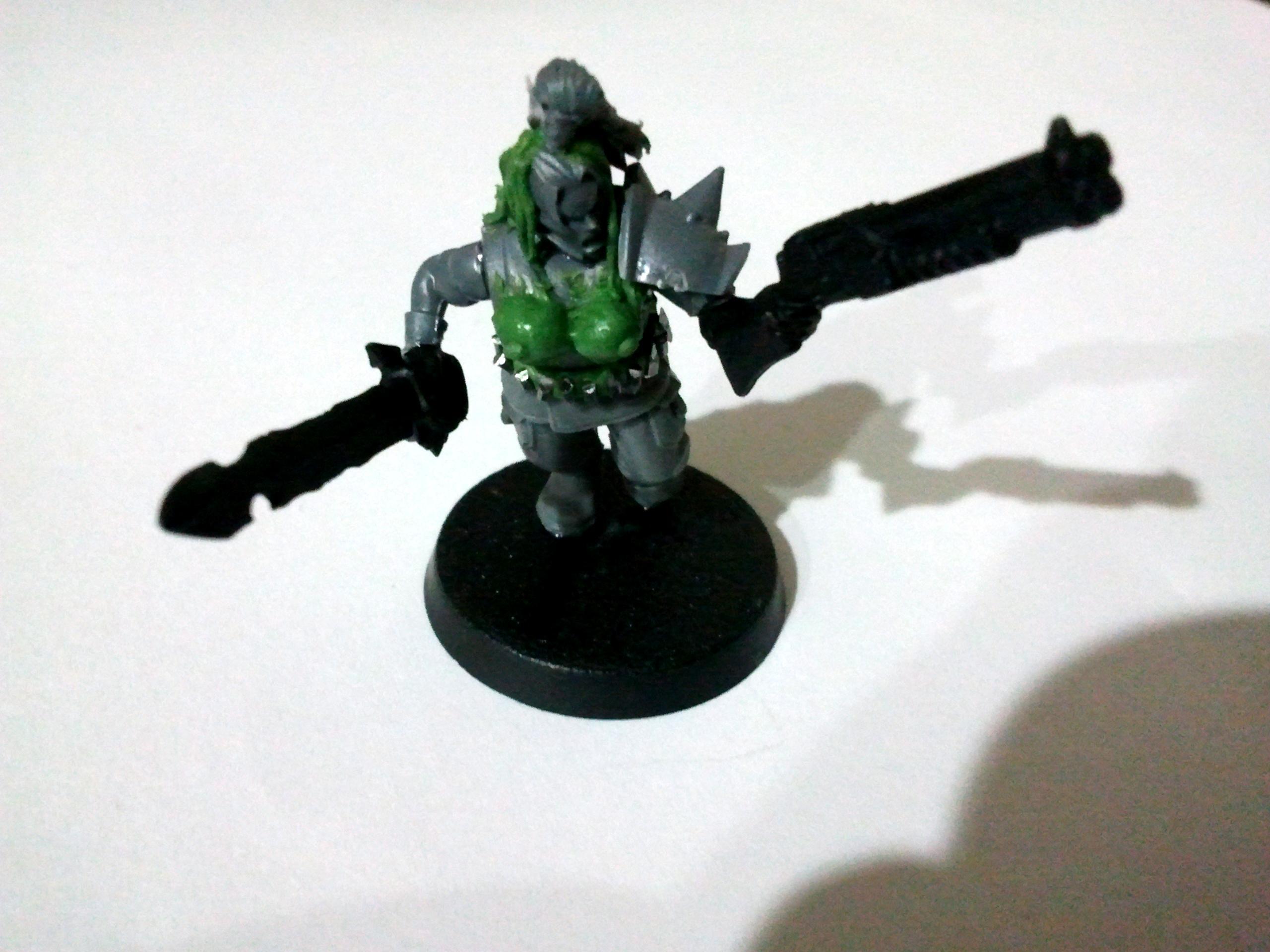 Guard, Imperial, Necromunda, Shotgun