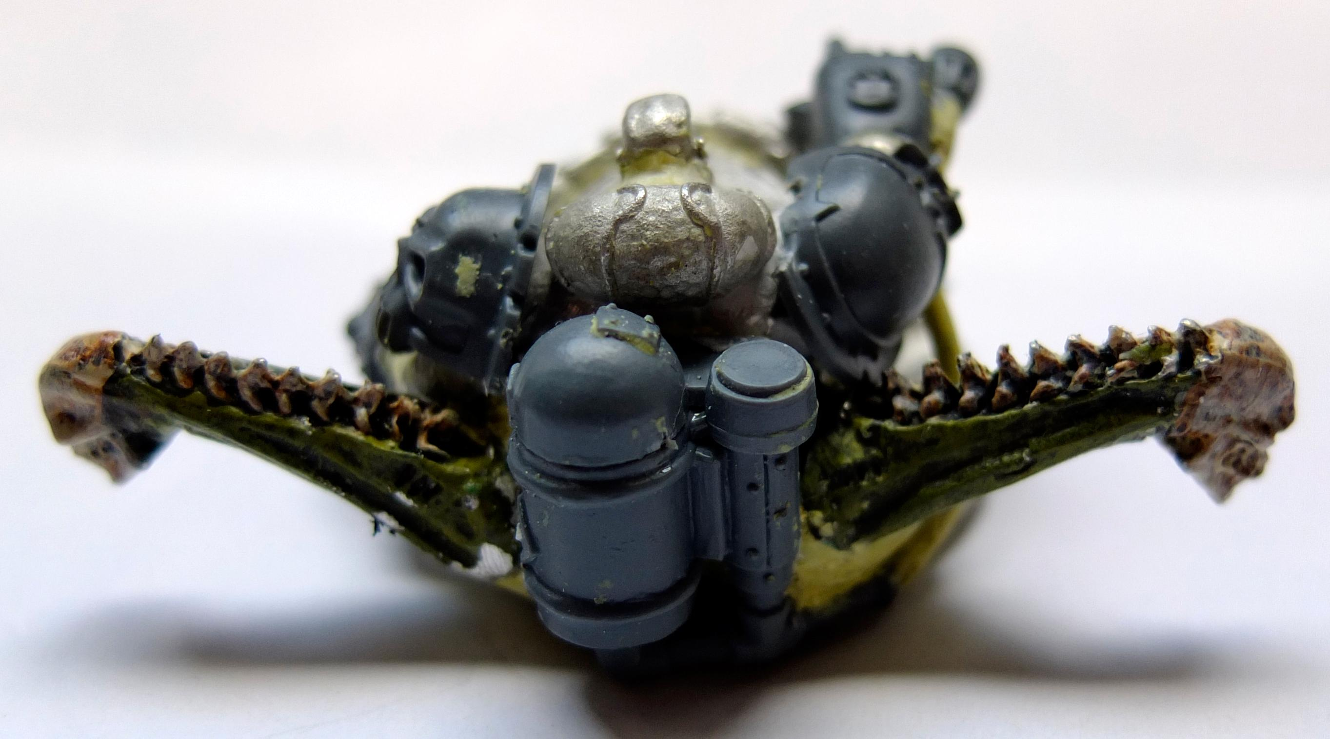 Chaos, Chaos Space Marines, Daemons, Nurgle, Palanquin, Work In Progress