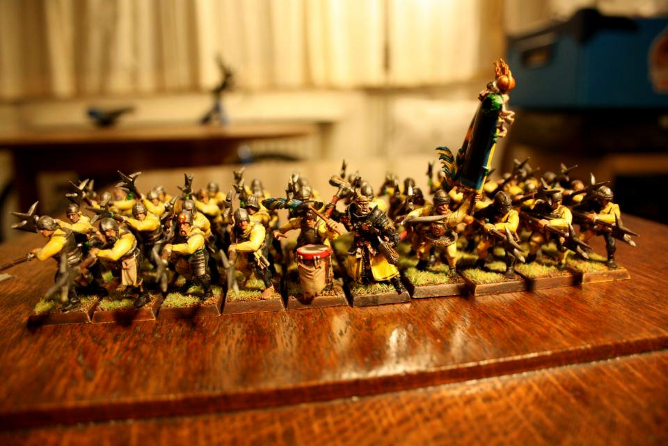 Averland, Empire, Halberd, Halberdiers, State, Troops, Yellow
