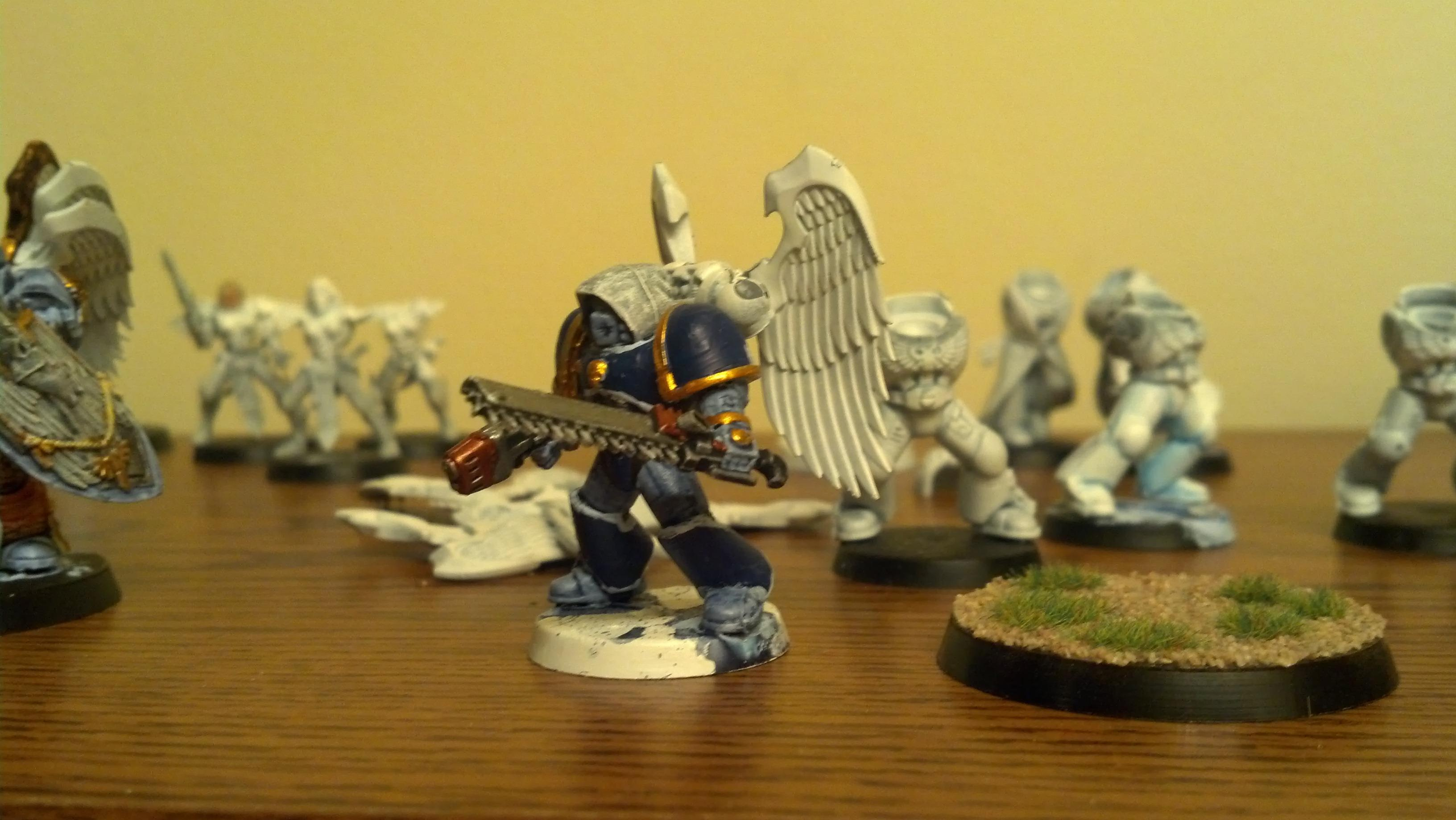 Space Marines, Work In Progress