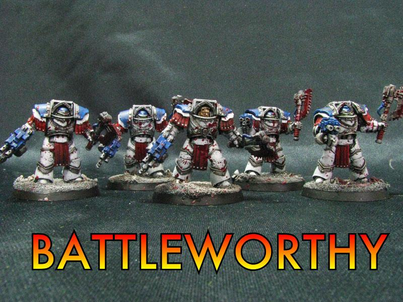 Space Marines, World Eaters