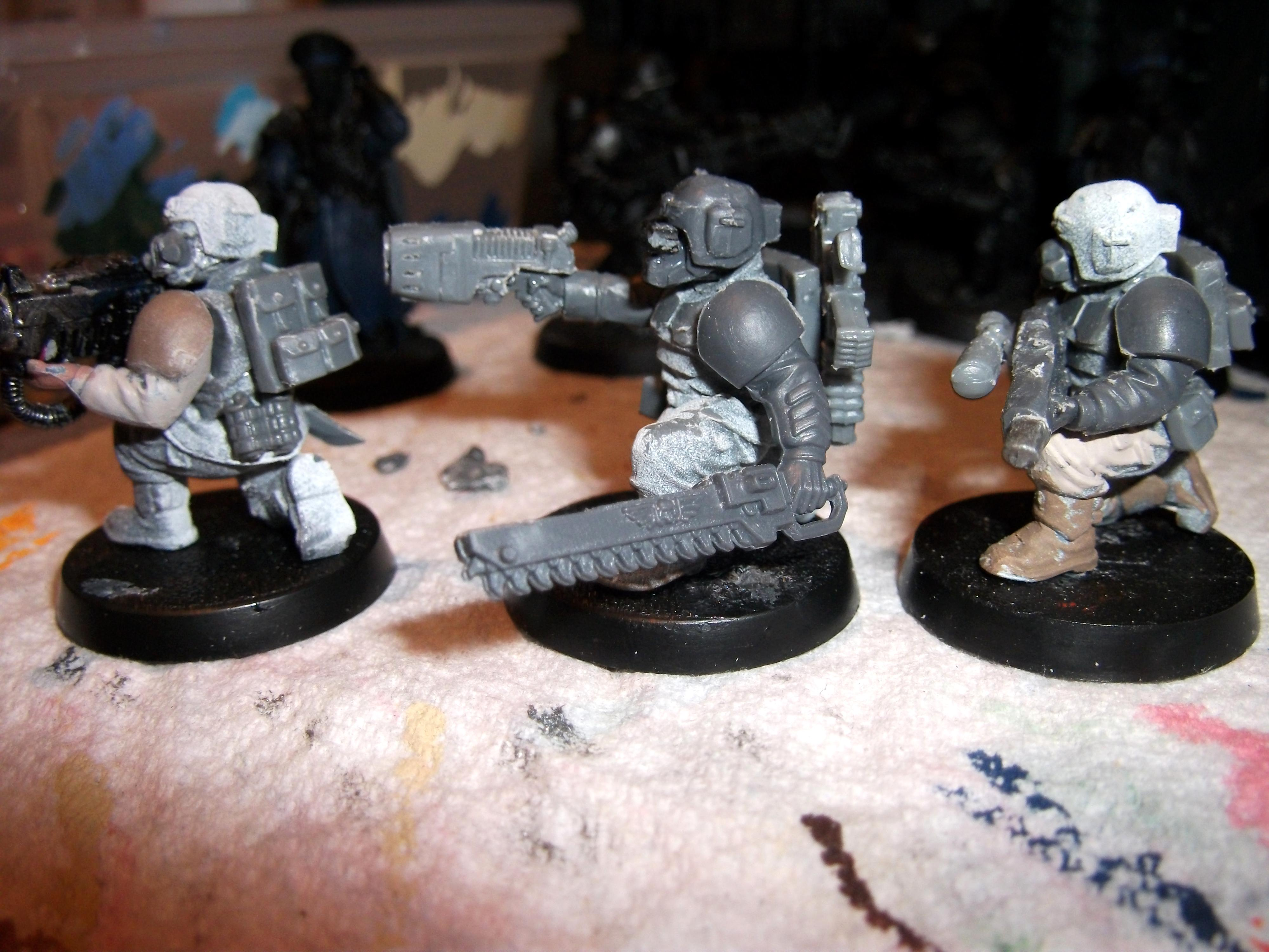 Backpacks, Conversion, Gasmasks, Goggles, Imperial Guard, Storm Troopers