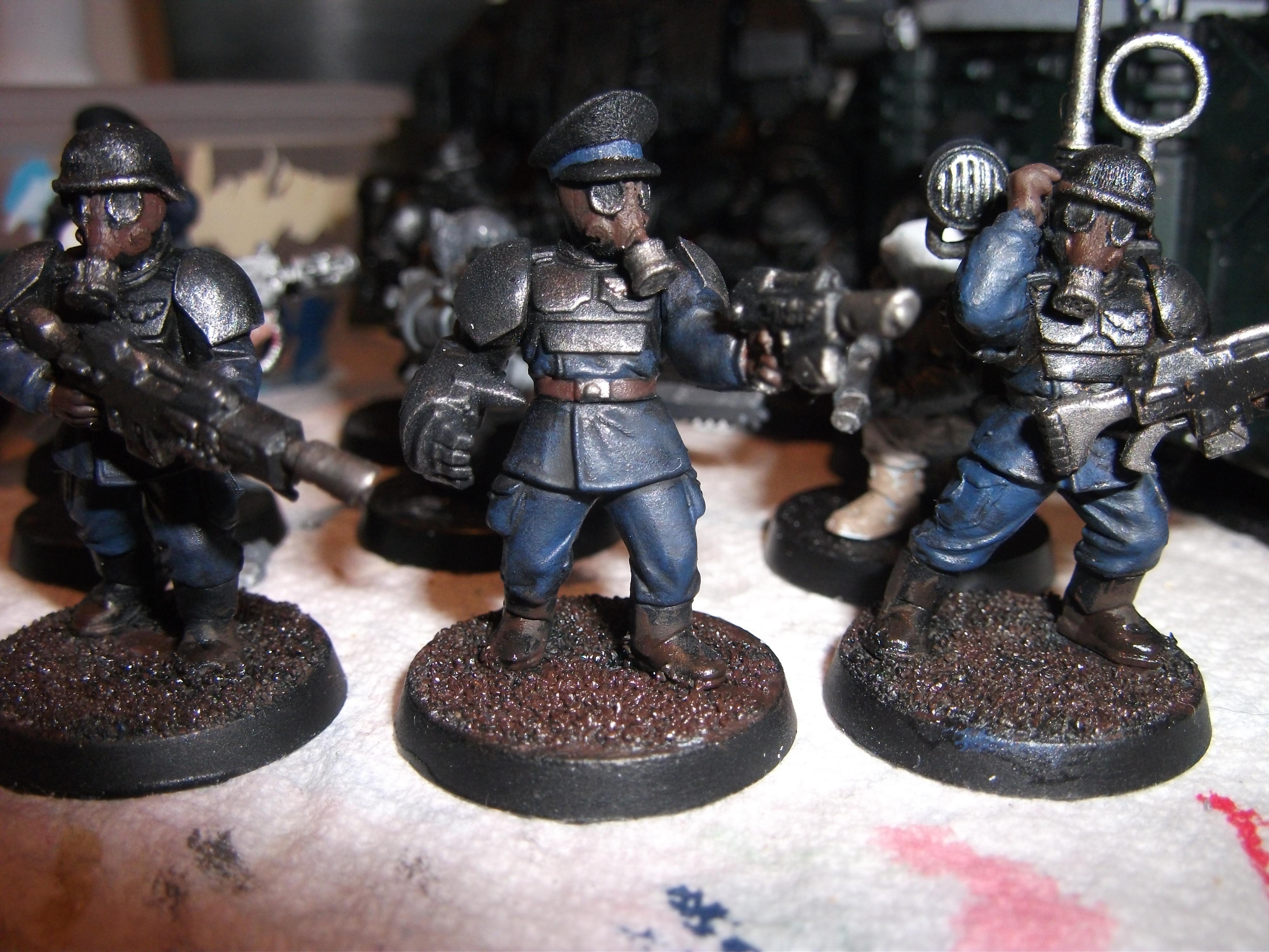 Conversion, Death Korps of Krieg, Gasmasks