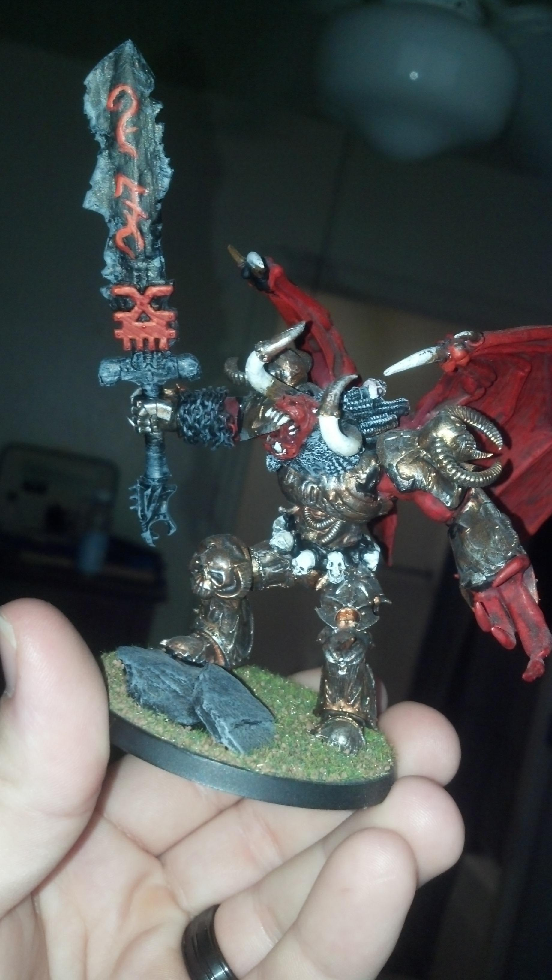 Daemons, dok demon prince, also use as Angron in apoc