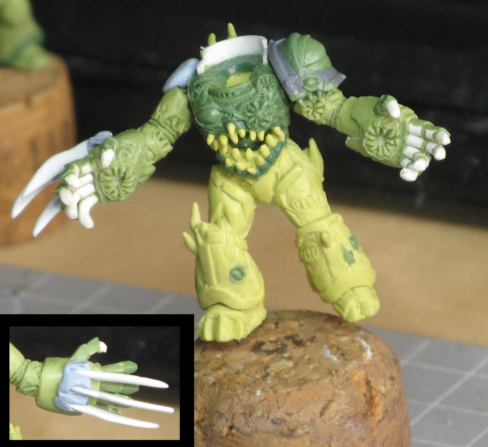 Chaos, Chaos Space Marines, Possessed, Warhammer 40,000, Work In Progress