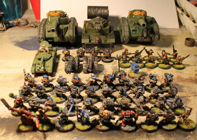 Out Of Production, Rogue Trader, Squats