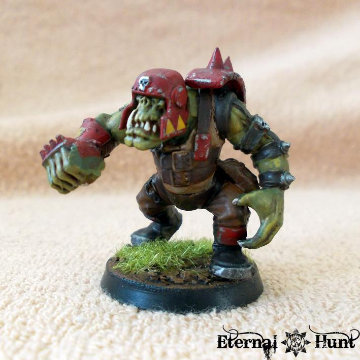 Bb, Blood Bowl, Conversion, Goblins, Greenskins, Kitbash, Orcs, Orcs & Goblins, Orkheim Ultraz, Team, Warhammer Fantasy, Wfb
