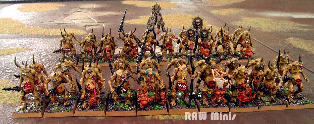 Chaos, Chaos Daemons, Daemons, Daemons Of Chaos, Painting, Warhammer 40,000, Warhammer Fantasy