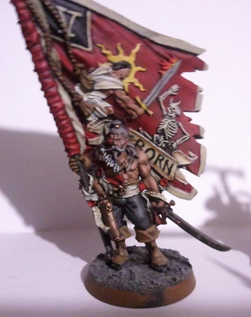 Imperial Guard, Standardbearer, Vostroyan