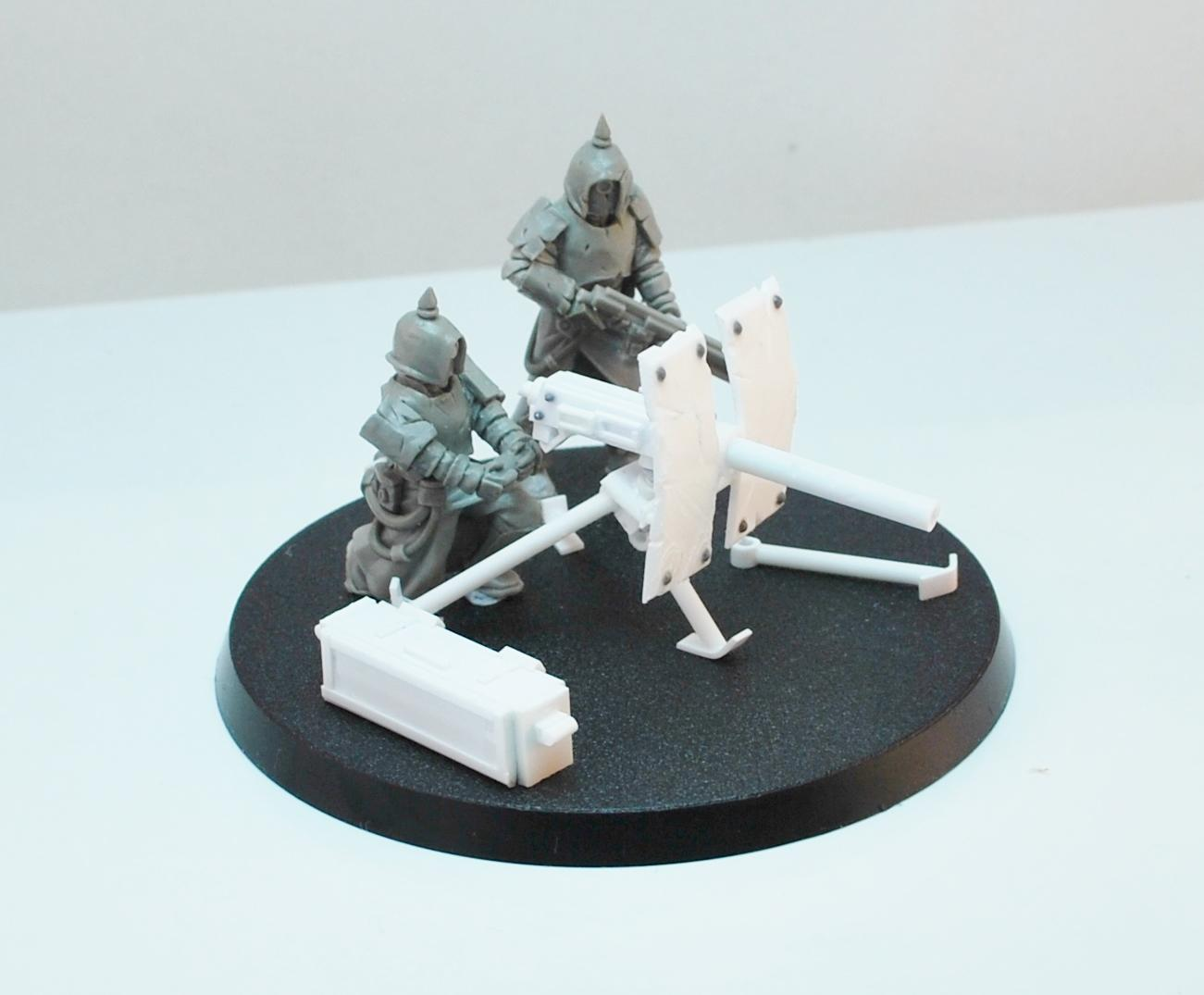 Anvil Industries, Heavy Weapon, Miniatures Of The North, Scratch Build, Tox Troopers