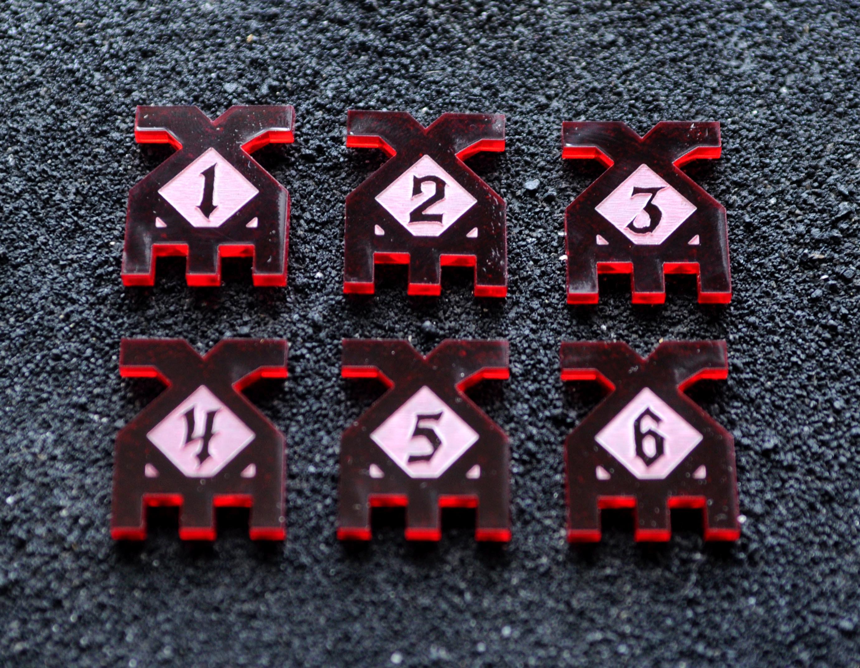 Counters, Discord, Genius Factory Games, Tokens